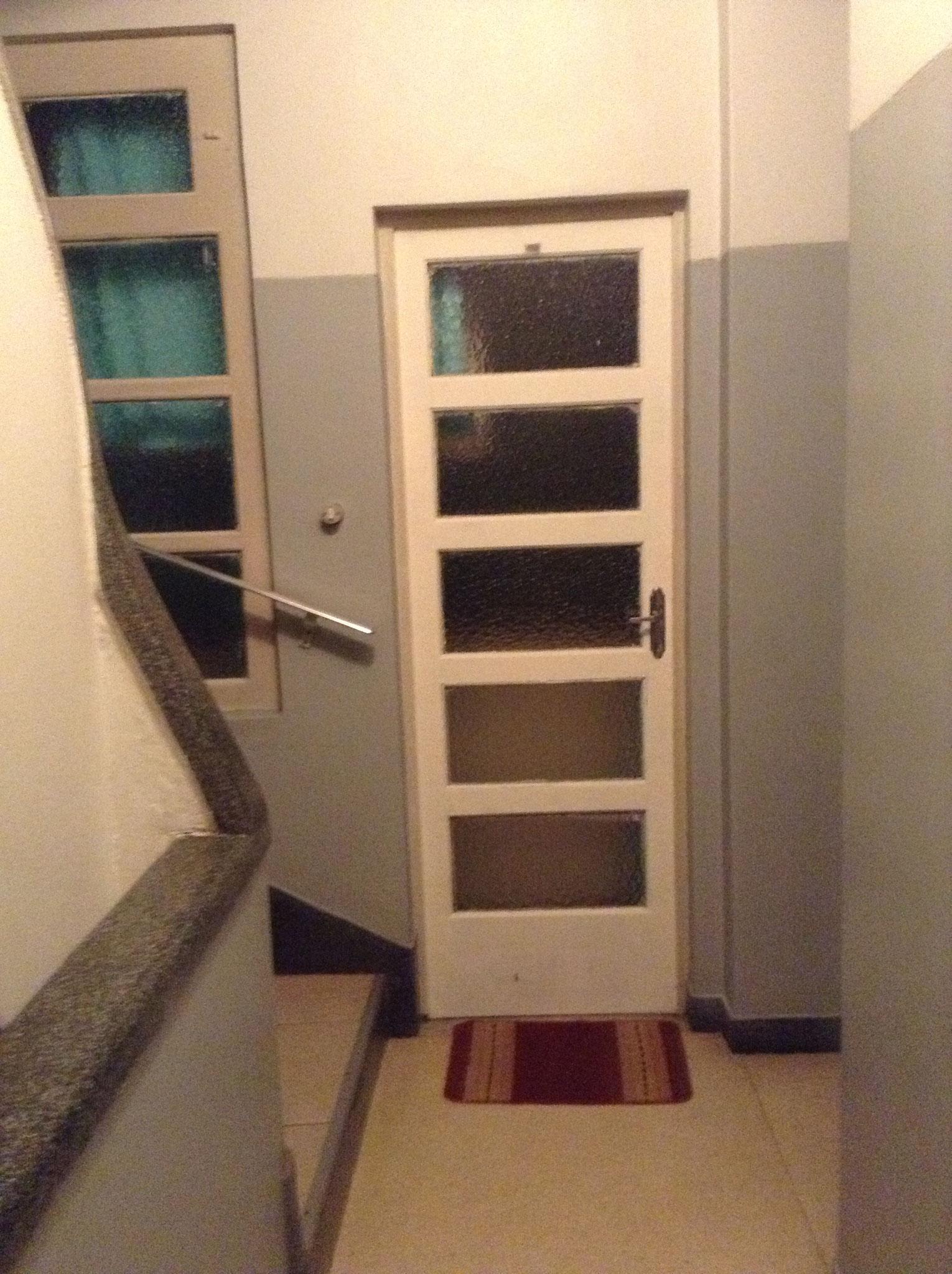 Tür zum Balkon