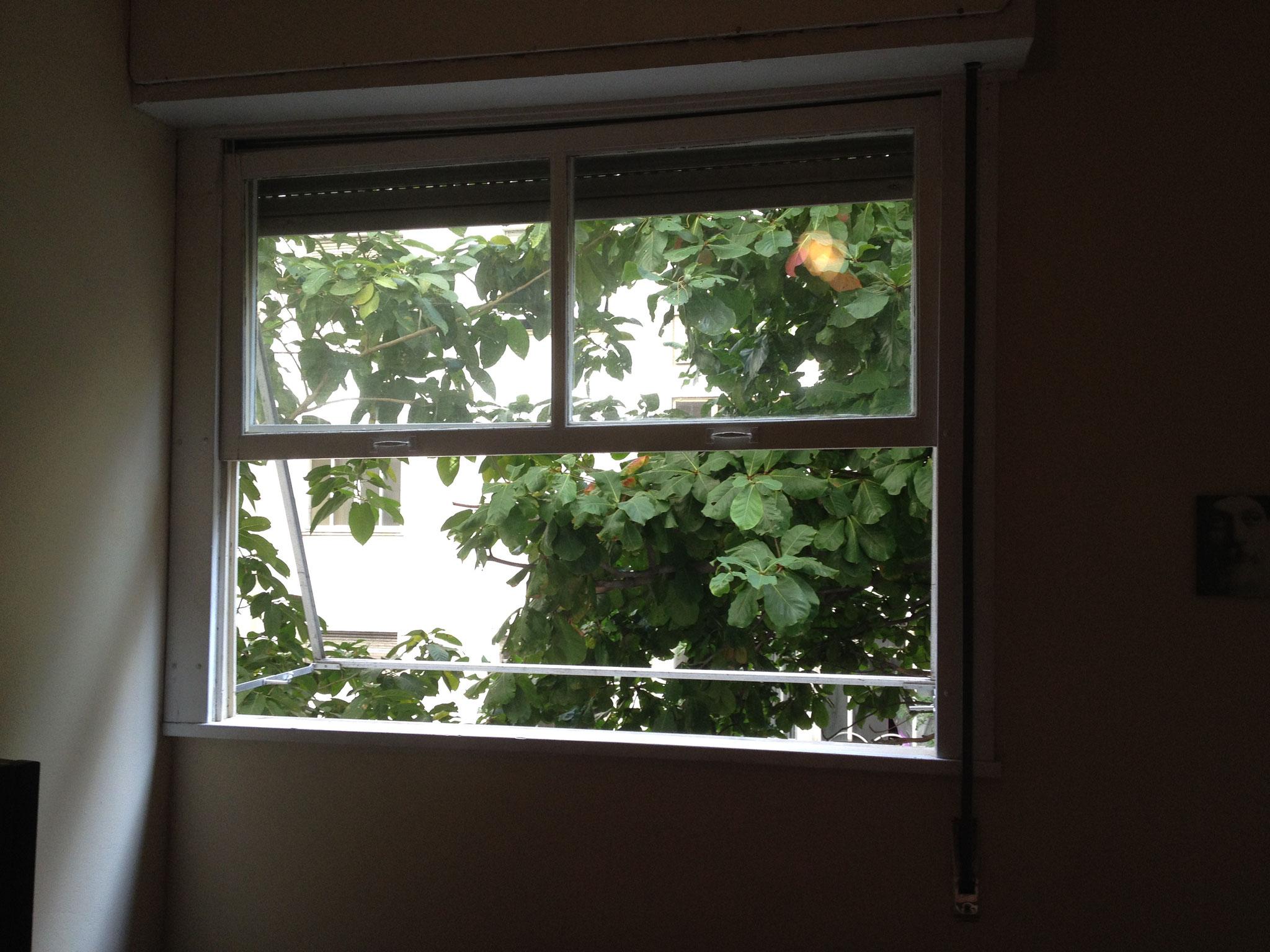 Erstes Schlafzimmerfenster