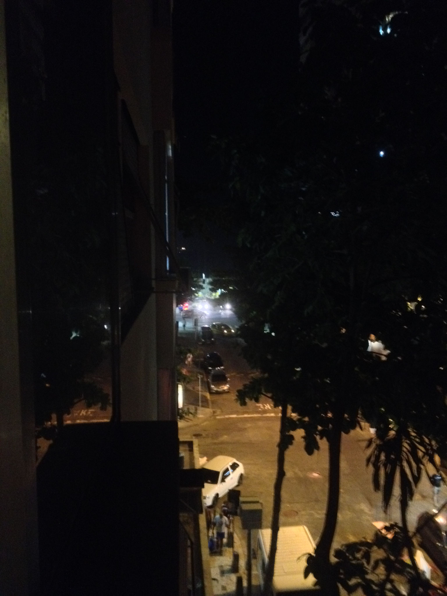 Blick nachts