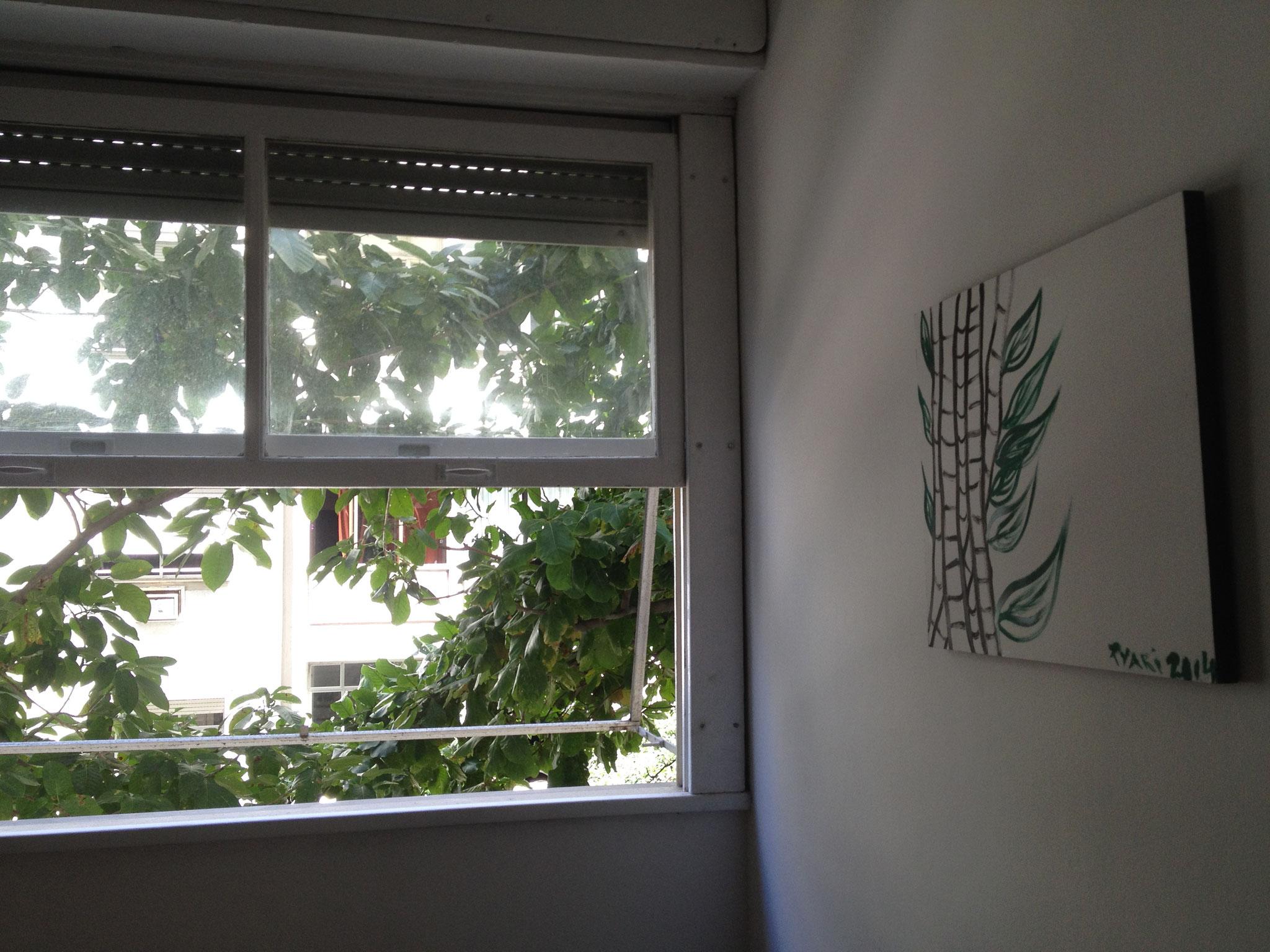 Das zweite Schlafzimmerfenster