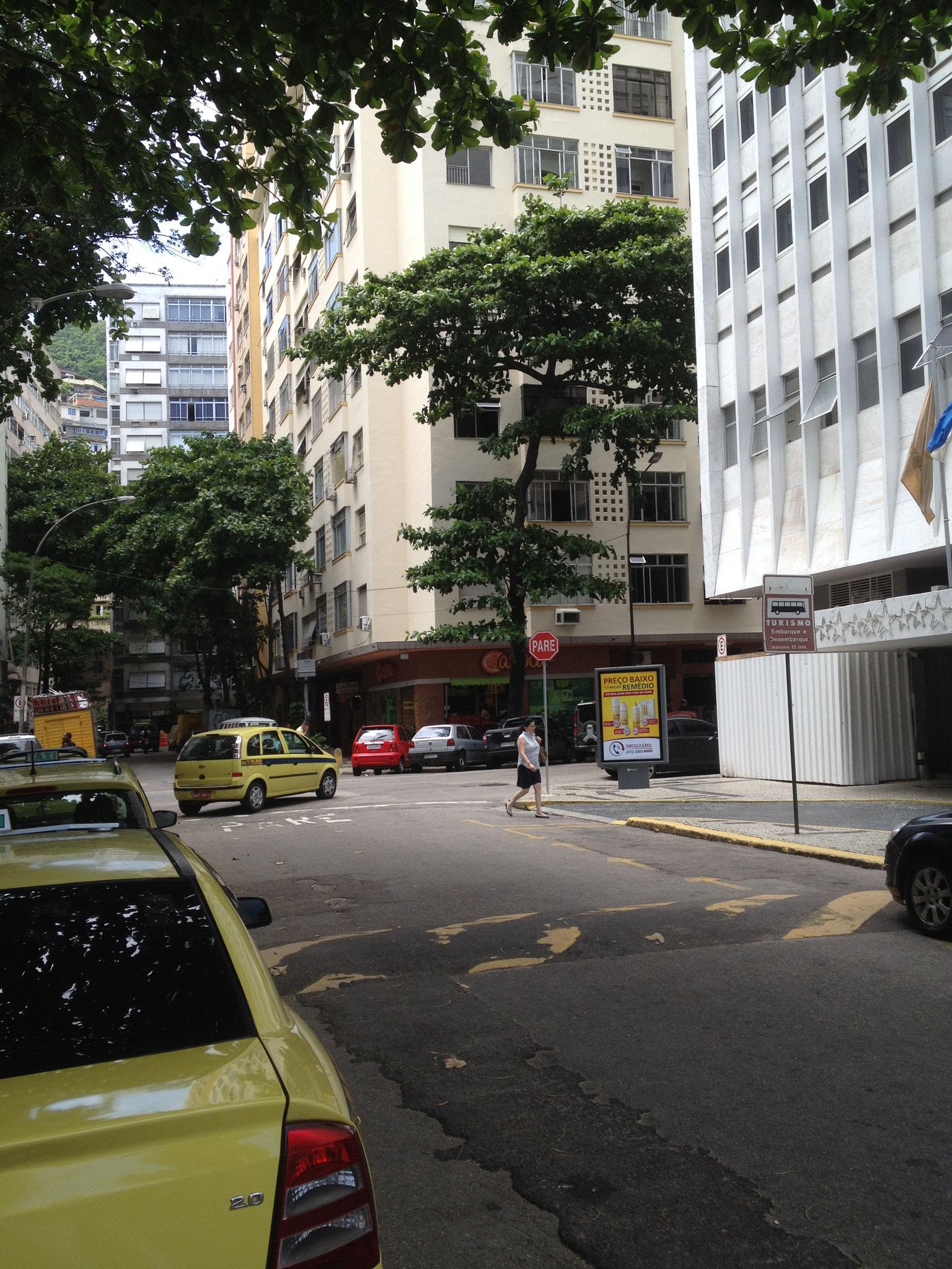 Gebäude der Whg und Leme Palace Hotel
