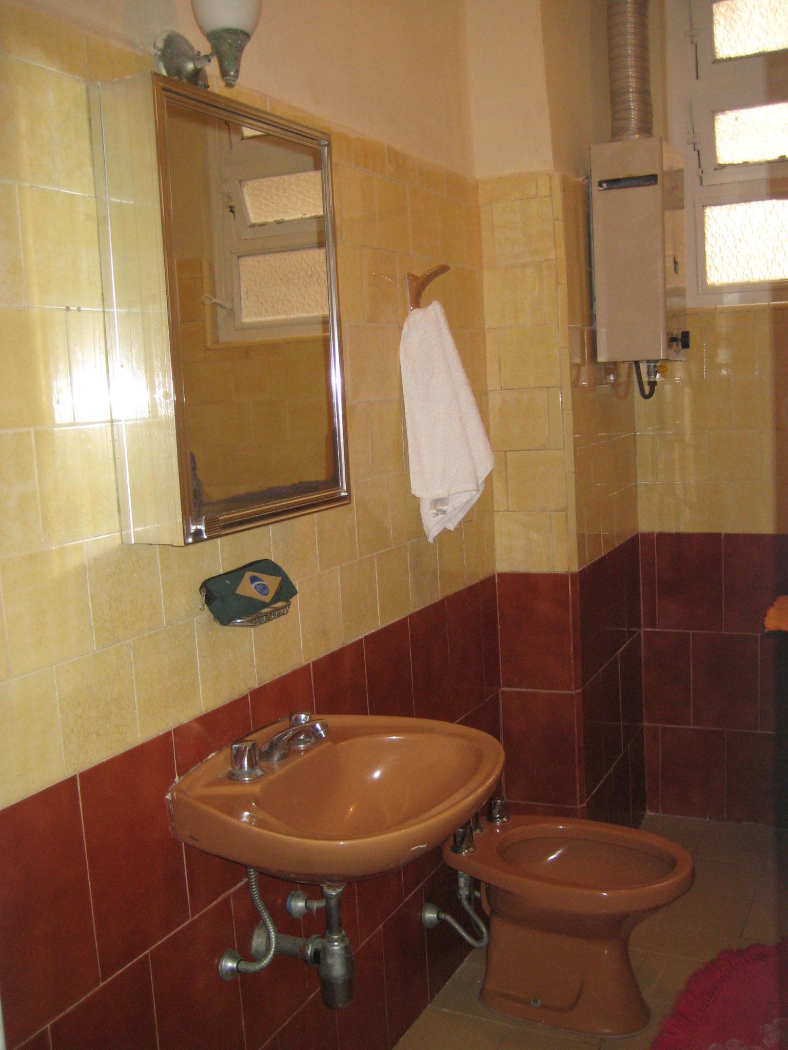Badezimmer mit Handtüchern