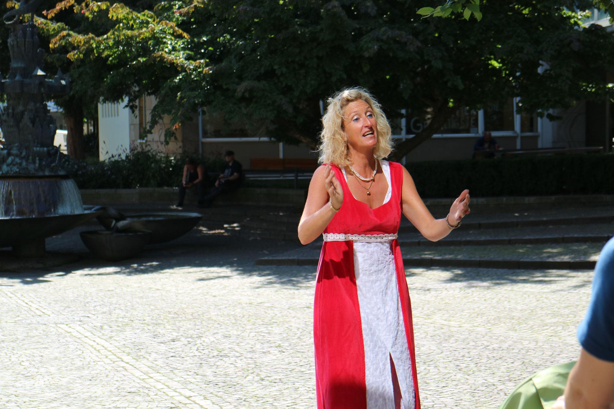 Osnabrücker Märchensamstag 2021 - Sonja Fischer Fotos: Erzähltheater Osnabrück / Sabine Meyer