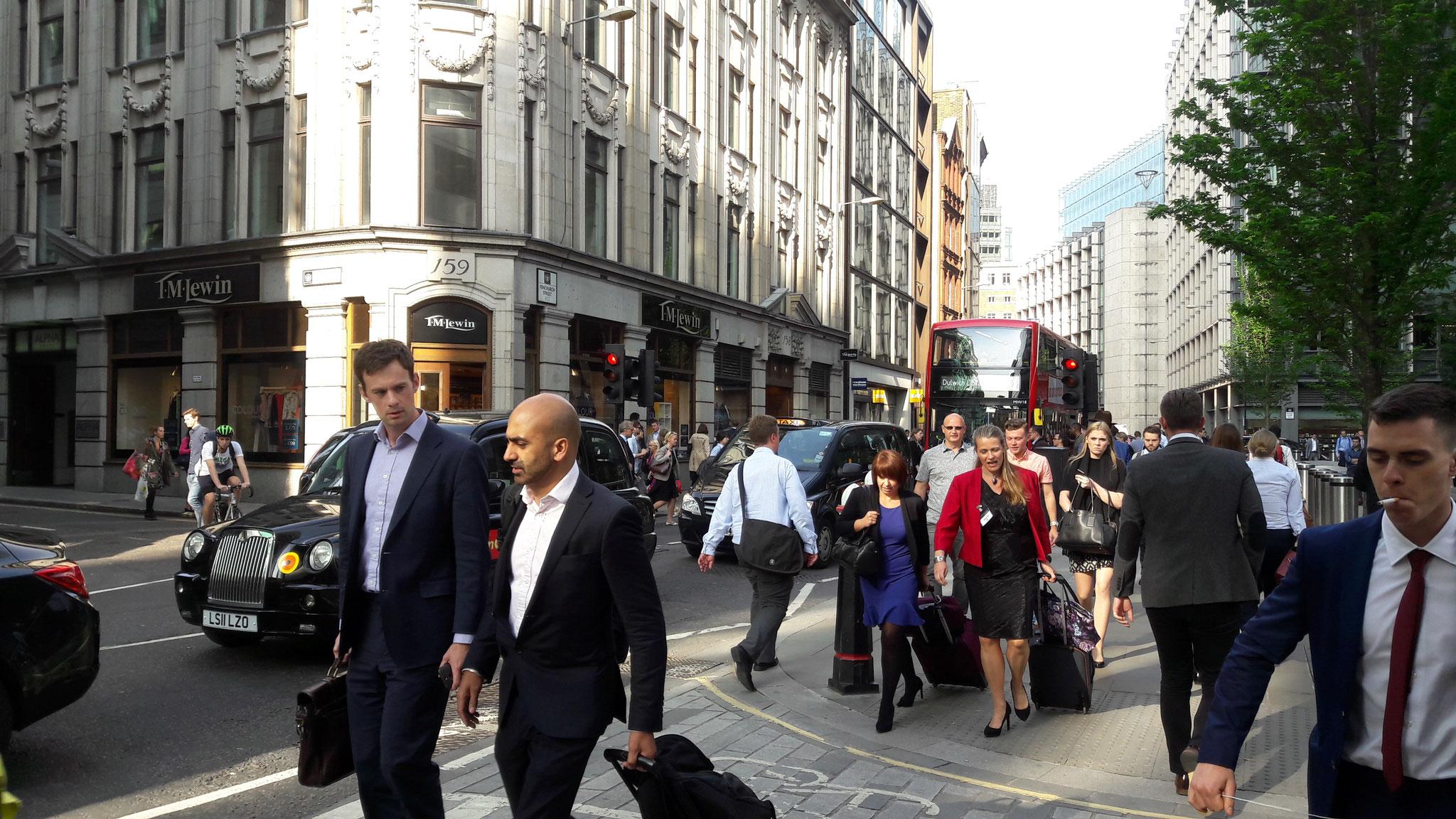 London zur Feierabendzeit