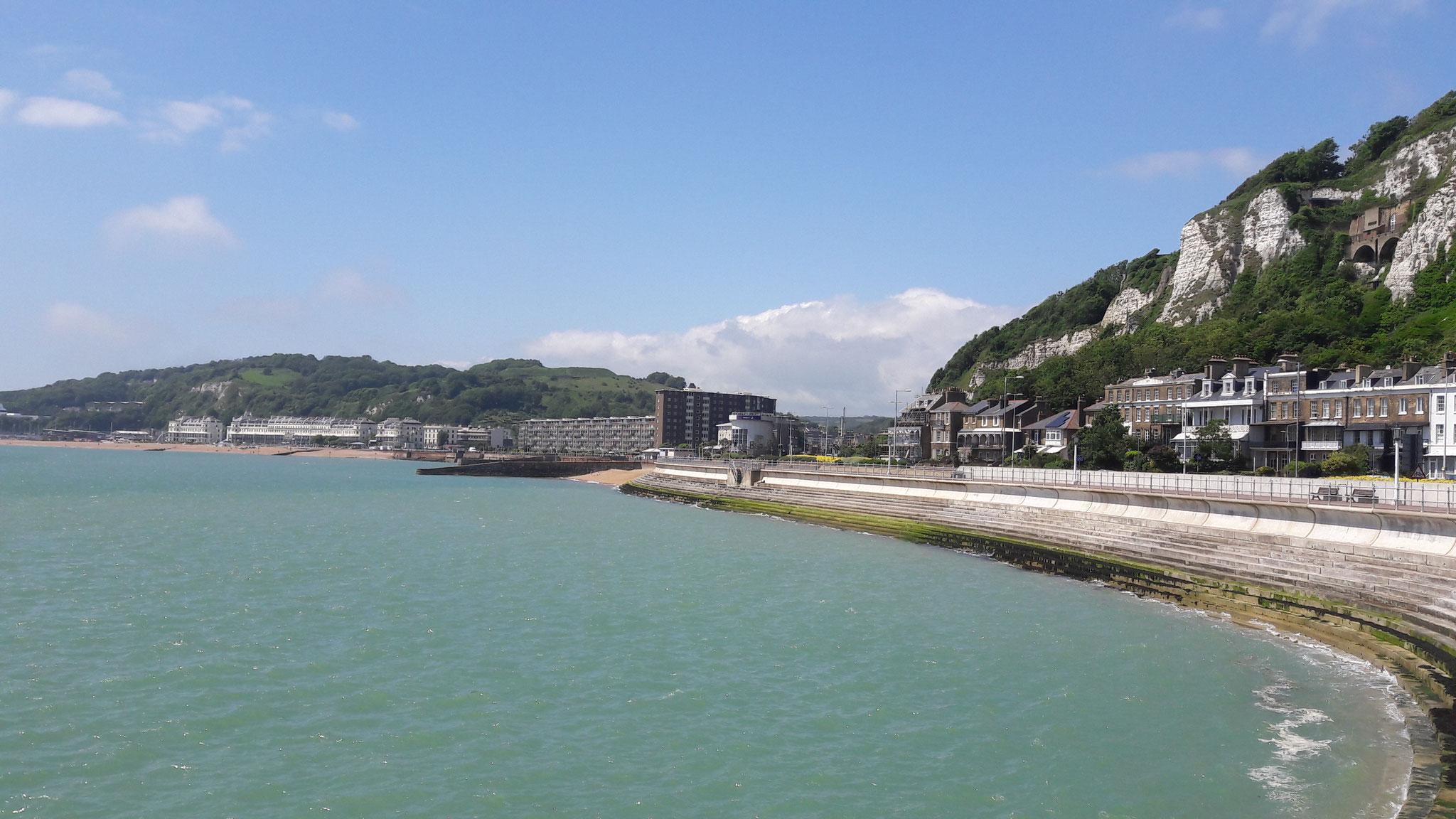 Seepromenade von Dover