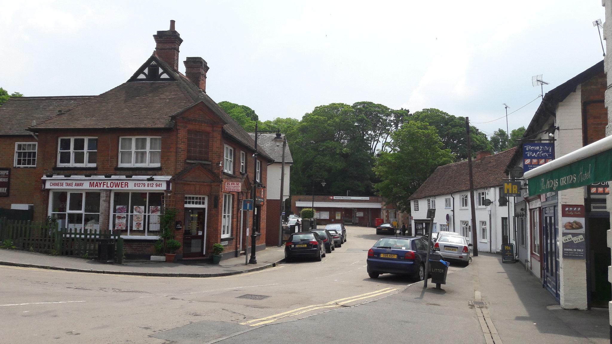 Elsenham bei London-Stansted, meine 1. Unterkunft