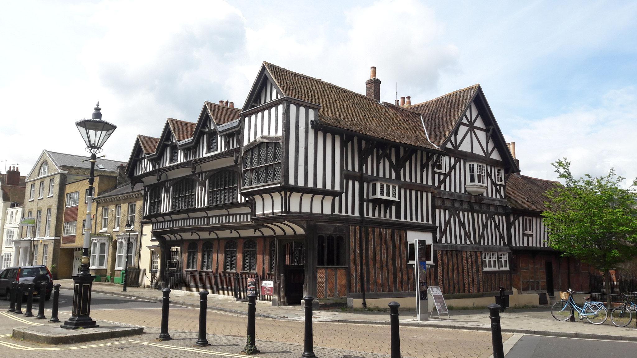 Tudorhaus in Southampton,  ältestes Museum Englands