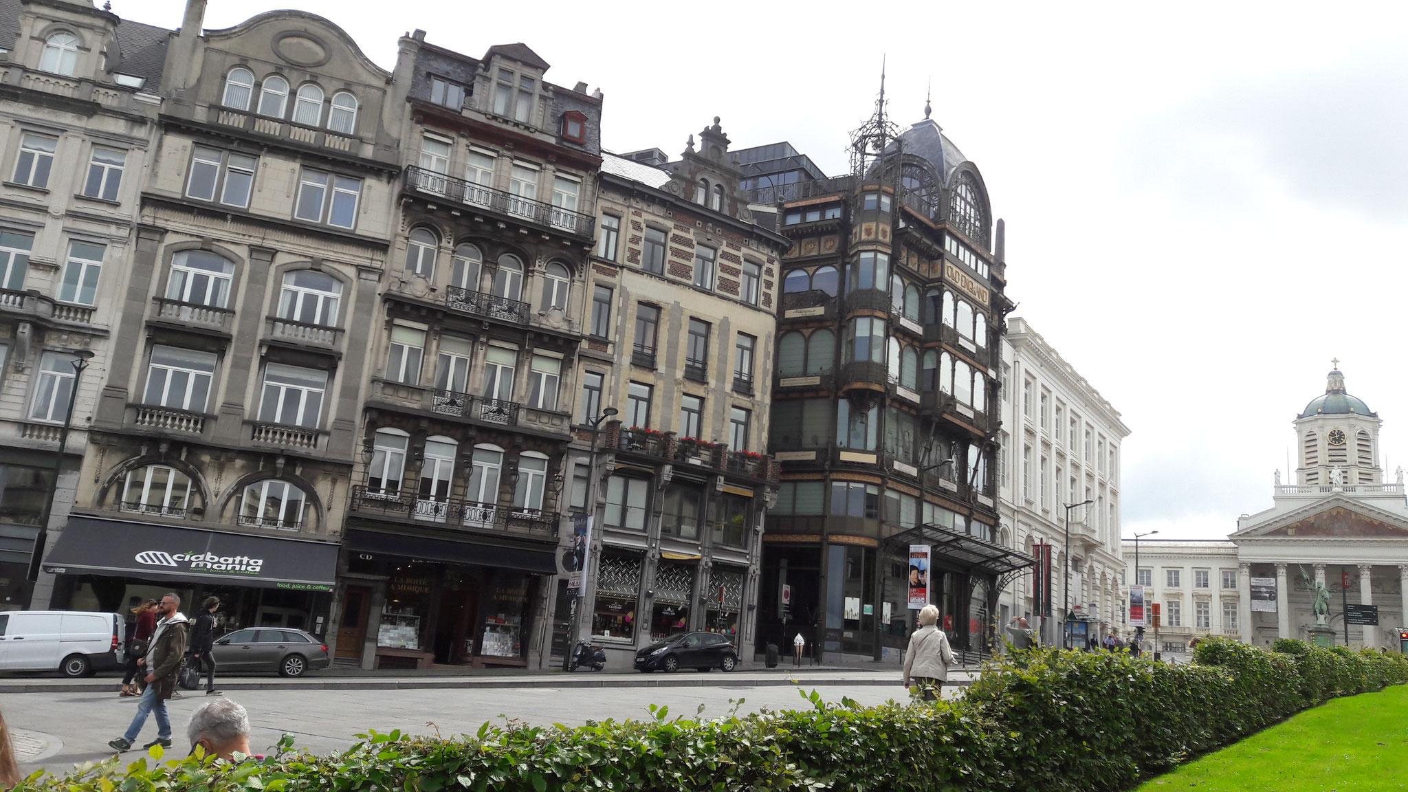 schöne Häuser im Jugendstil