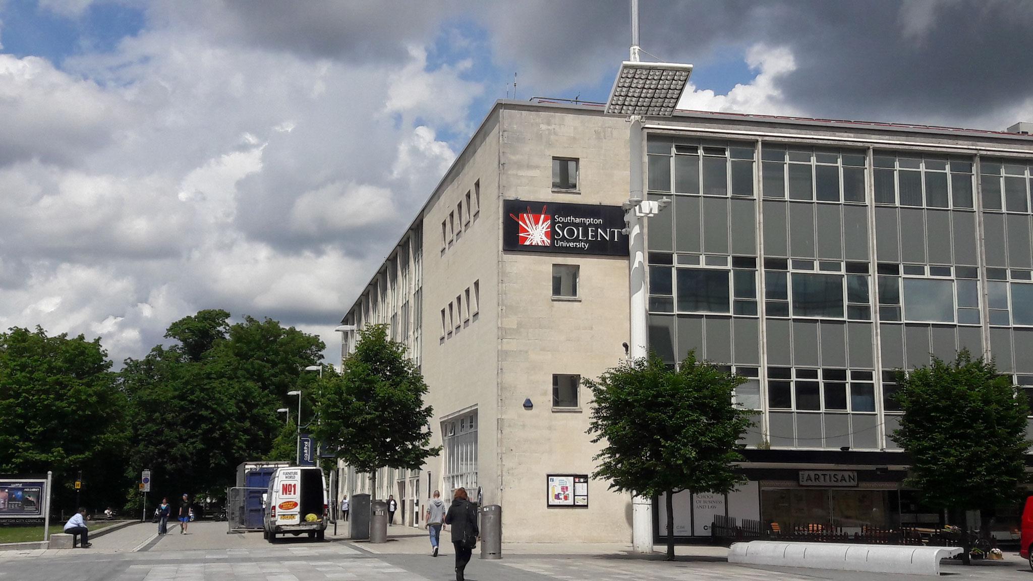 Uni in Southampton