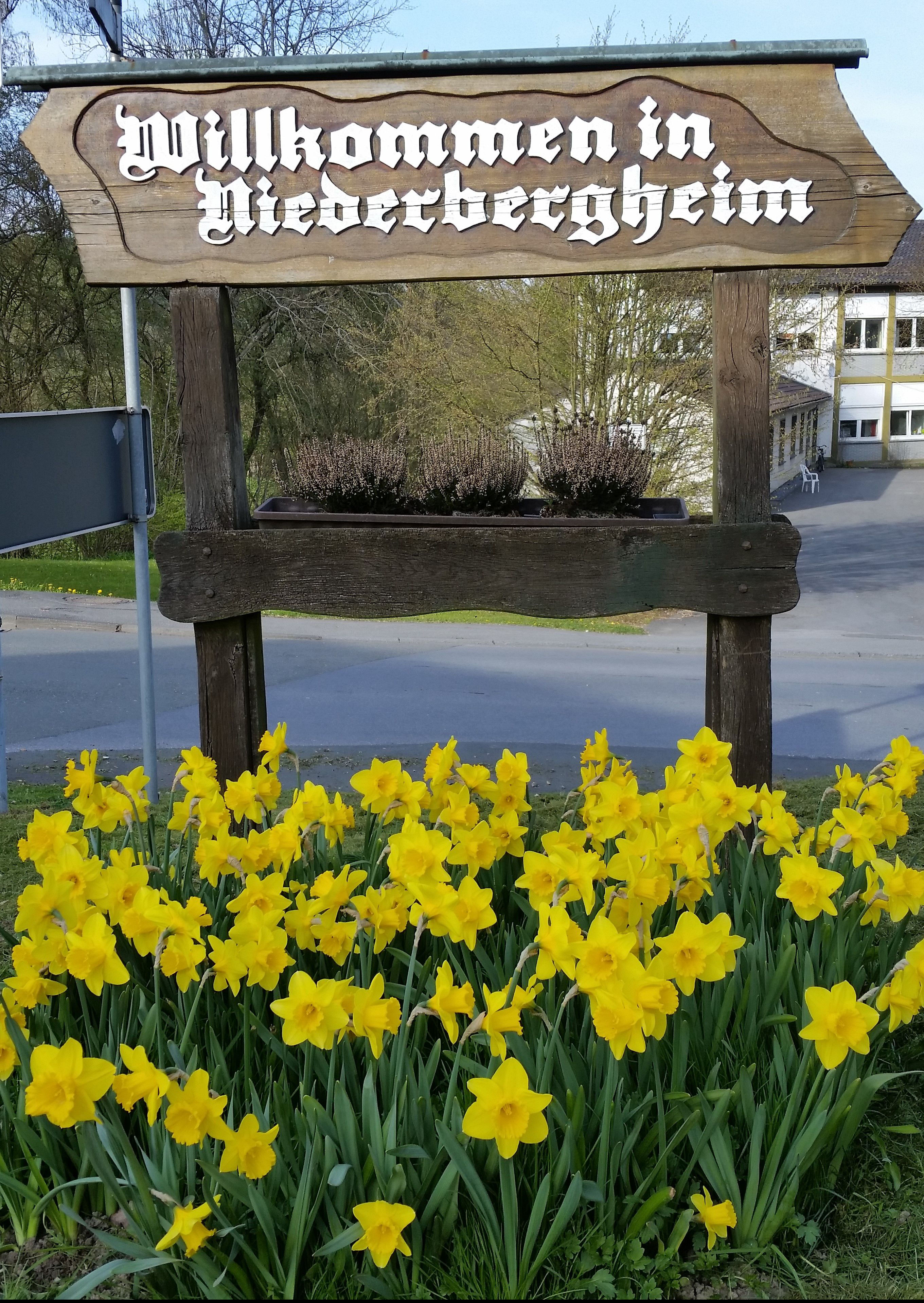 Begrüßungsschild aus Richtung Hirschberg kommend