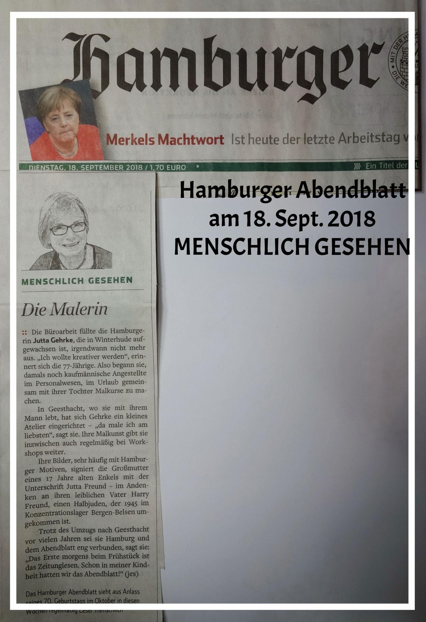 Menschlich gesehen/Hamburger Abendblatt