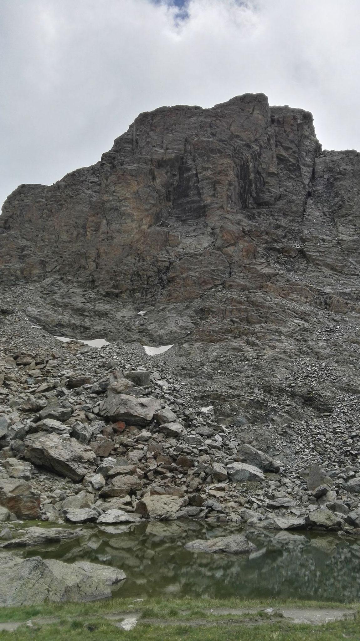 Gornergrat Zermatt Marathon - Das Riffelhorn