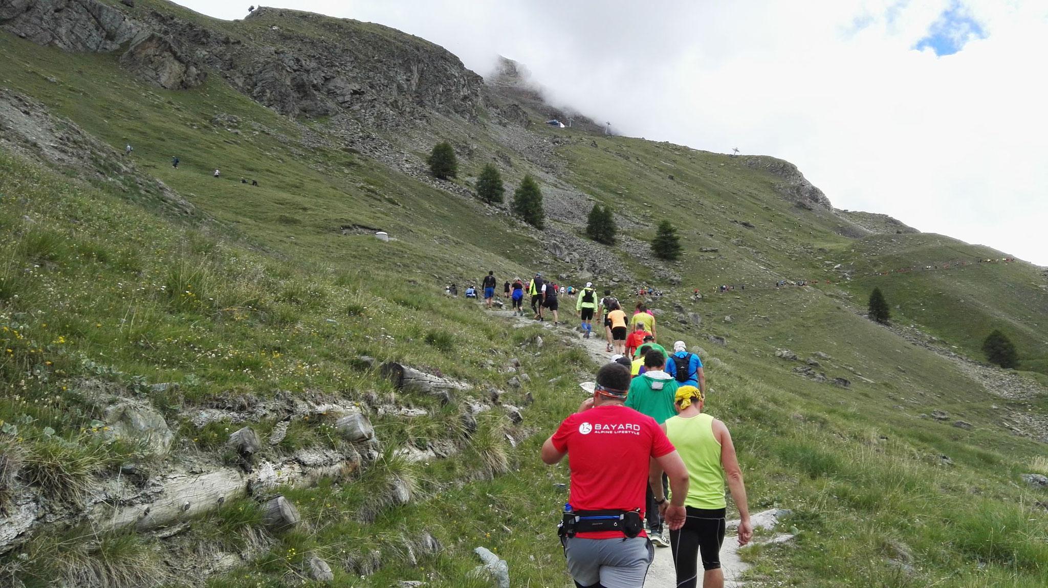 Gornergrat Zermatt Marathon - Der trailige Part