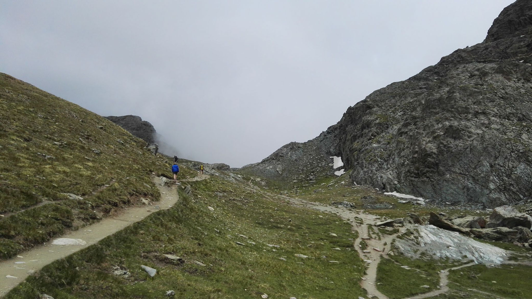 Gornergrat Zermatt Marathon - Weiter zum Gornergrat