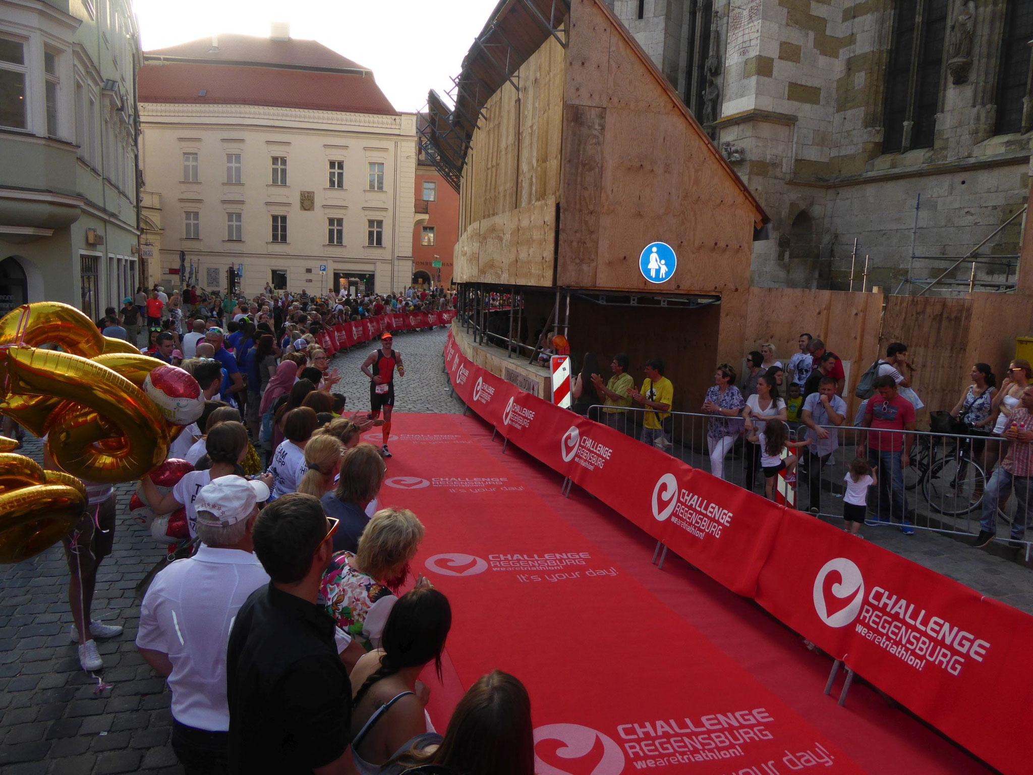 Challenge Regensburg - Zieleinlauf