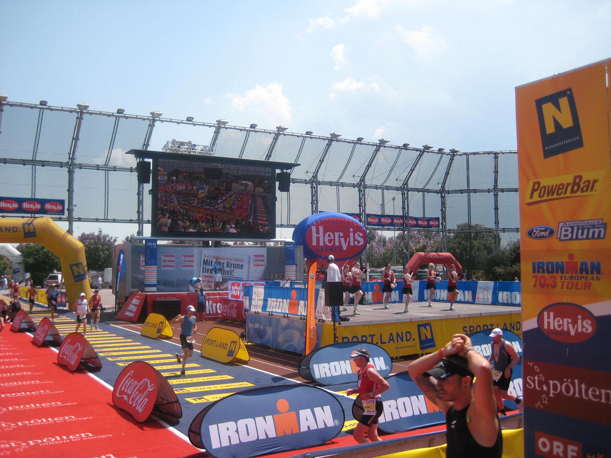 Ironman 70.3 St.pölten auf zur ersten Laufrunde