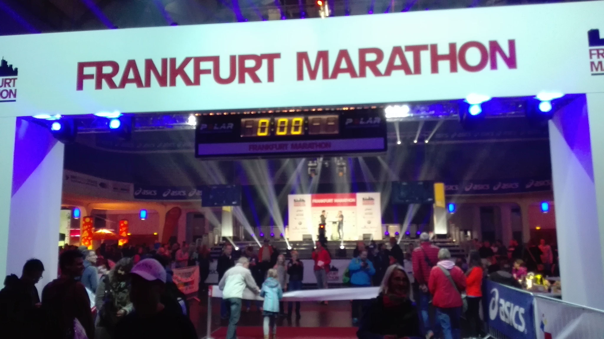 Frankfurt Marathon-Festhalle