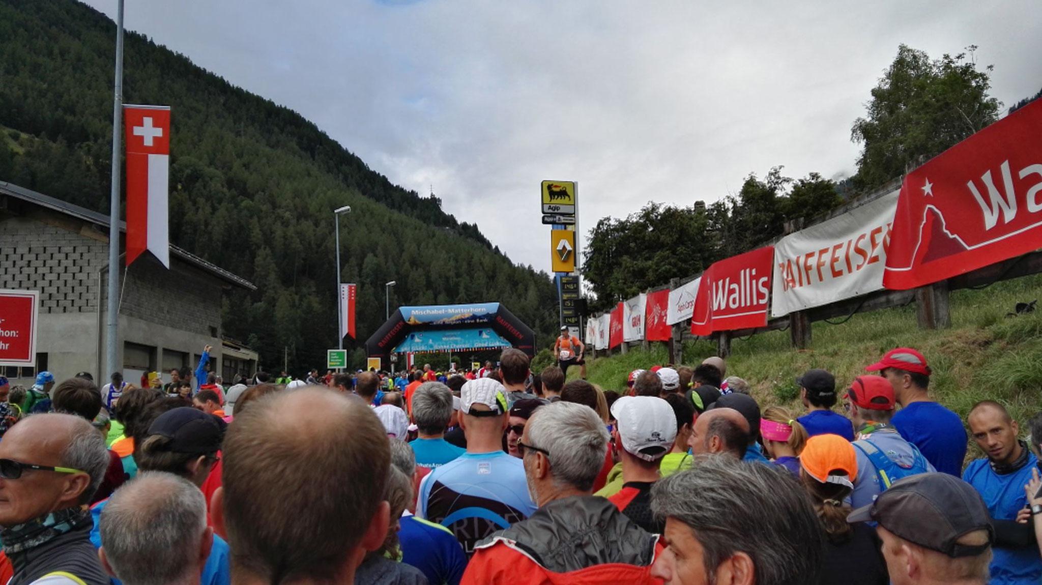 Gornergrat Zermatt Marathon - Vorm Start