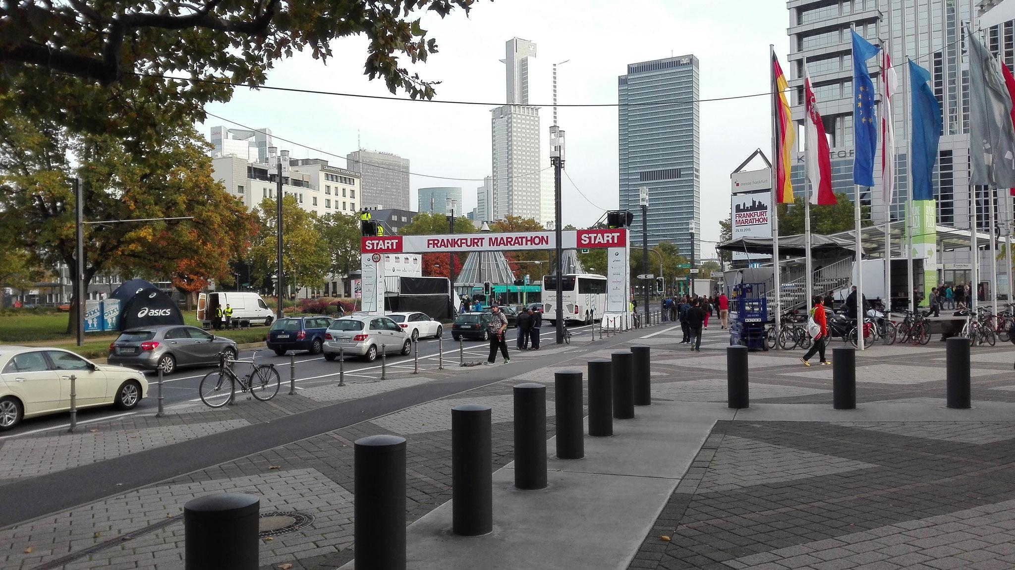 Frankfurt Marathon-Start