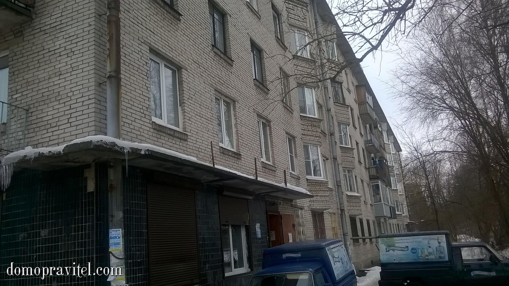 Григорина 11 в Гатчине, фасад дома