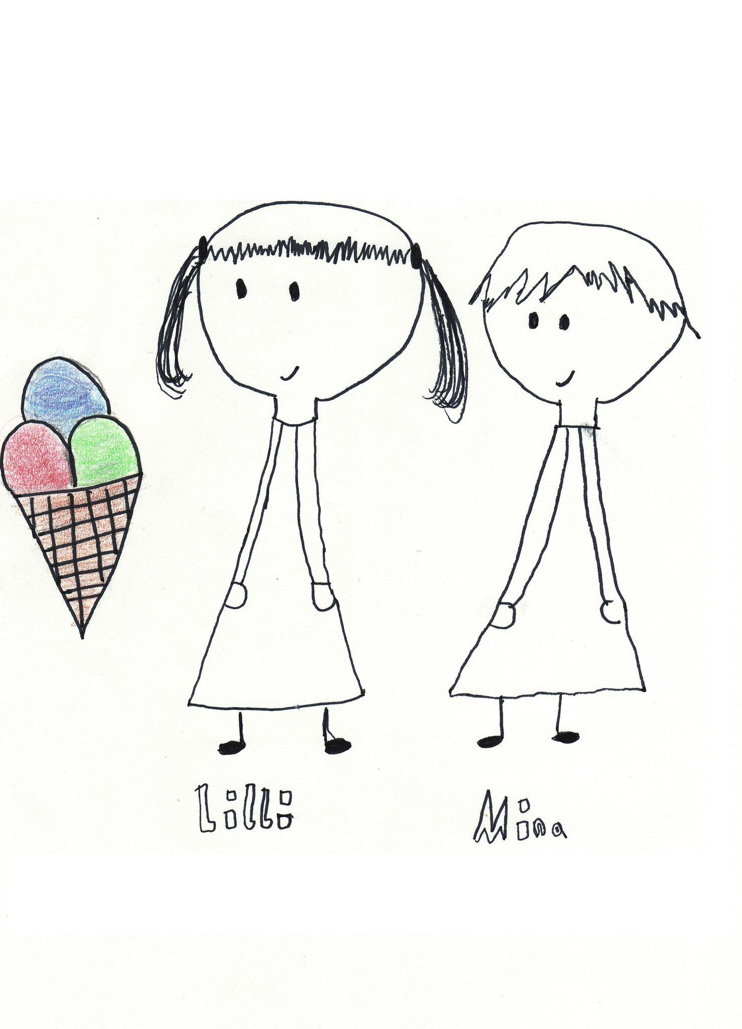 """""""Lilli und Mina"""" von Ylva"""