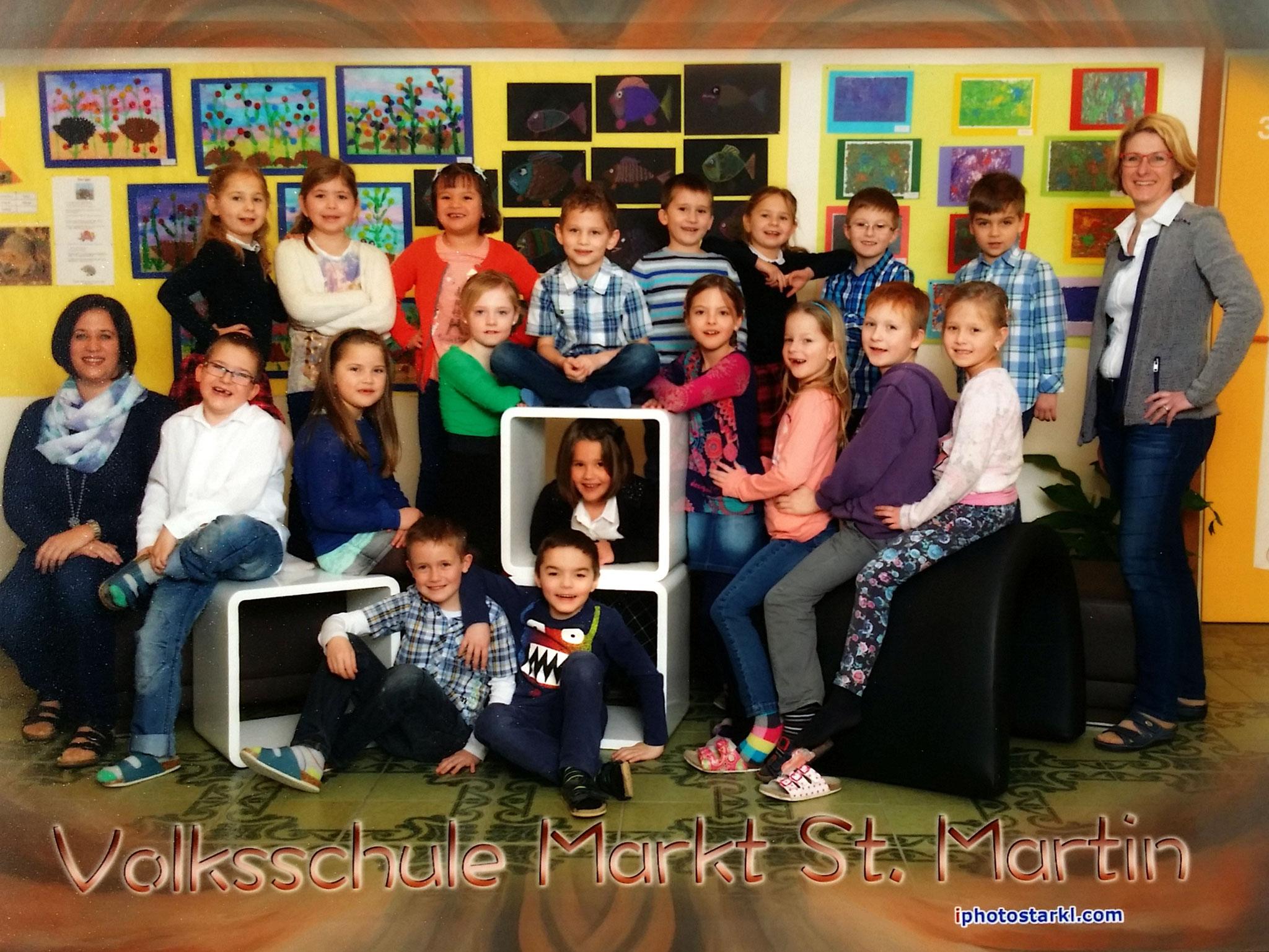 2014-15  _  1.Kl. (3./4. Schst.) mit Rel.L Martina KL Gerhard Kappacher und Dir.in Theresia Trummer