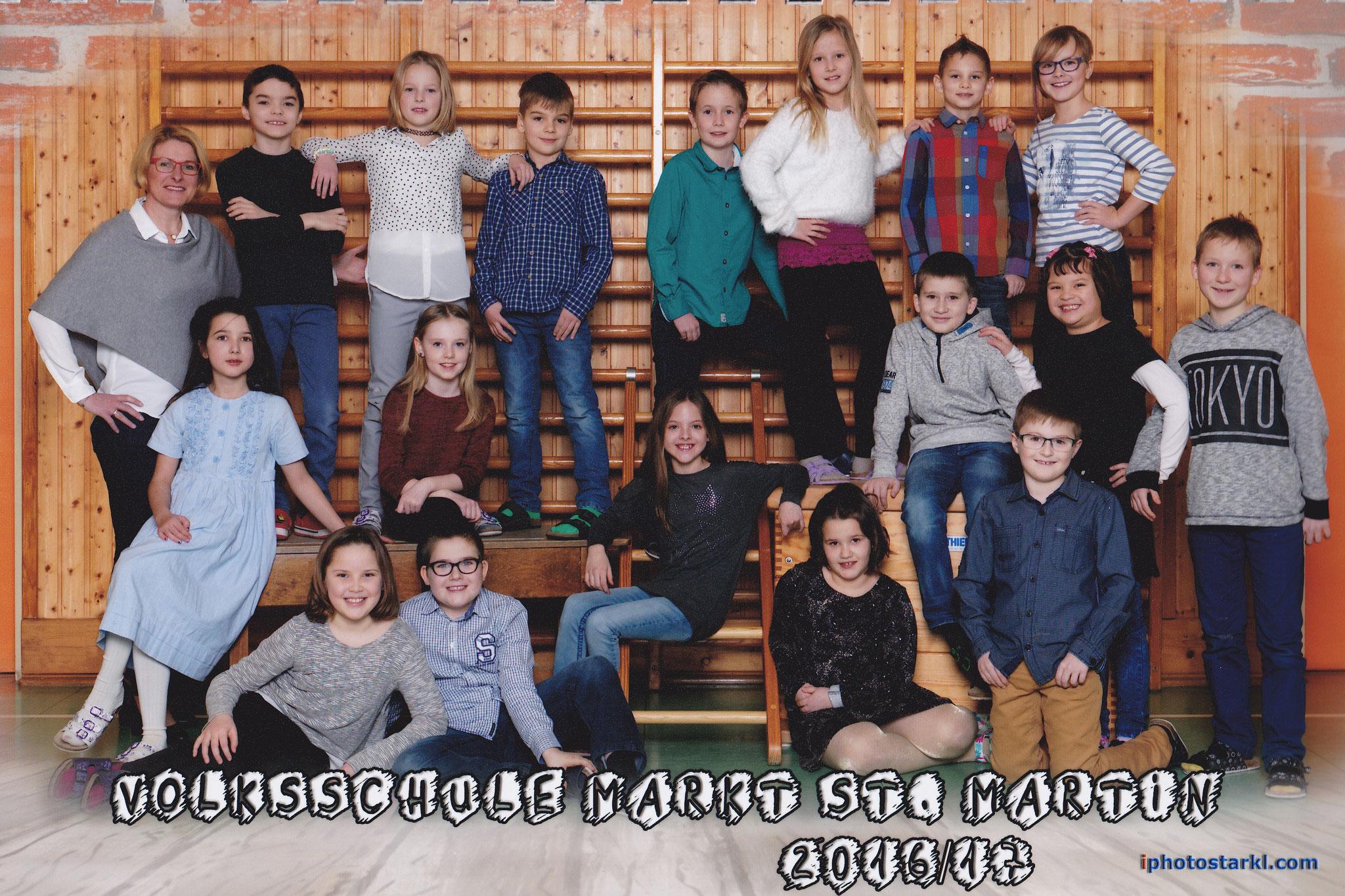 2016-17  _  2.Kl. (3./4. Schst.) mit KL Theresia Trummer
