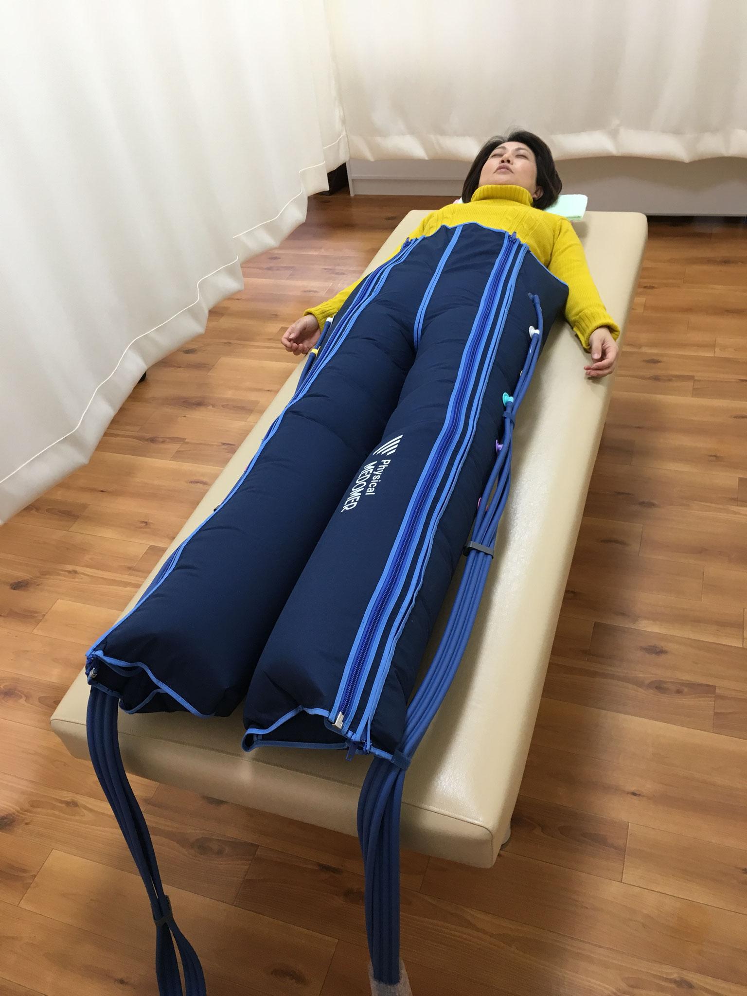 足のむくみ・疲れ・足の冷えに空気圧マッサ-ジはいかかですか?