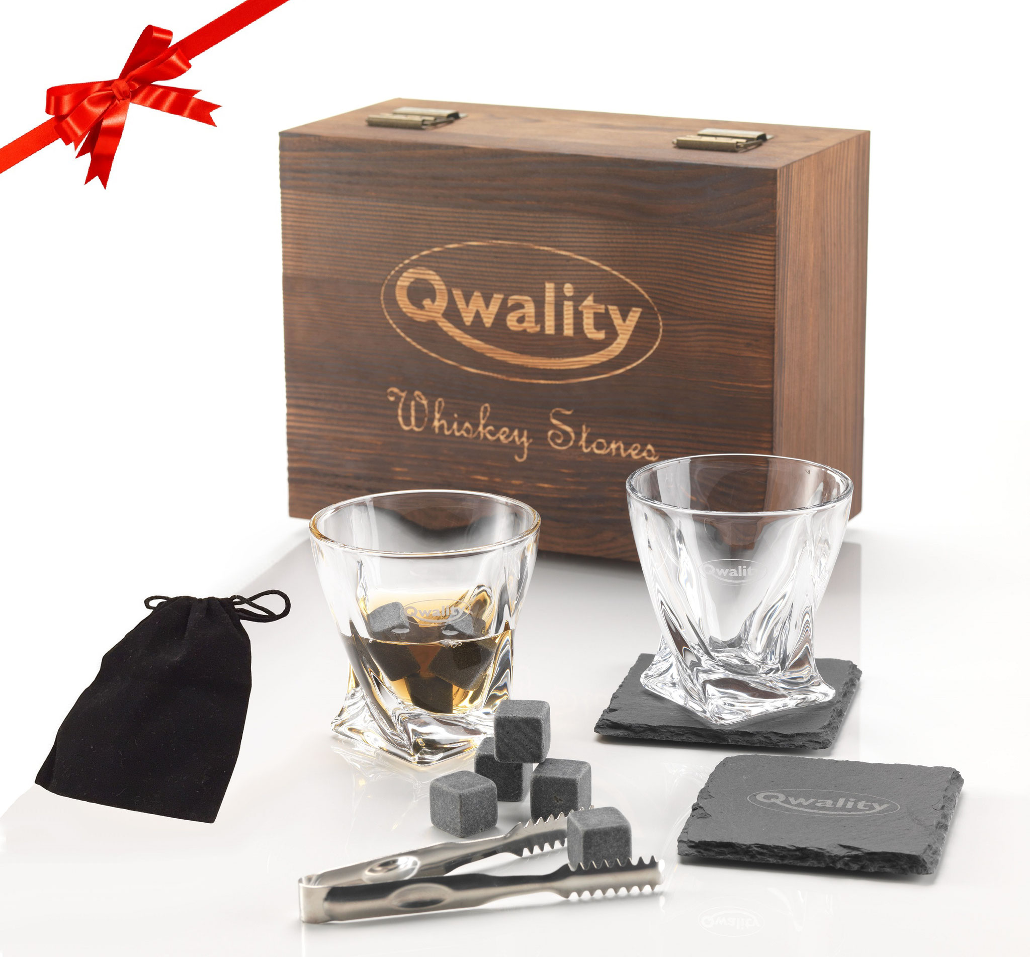 Whiskey Stenen Set - Groot