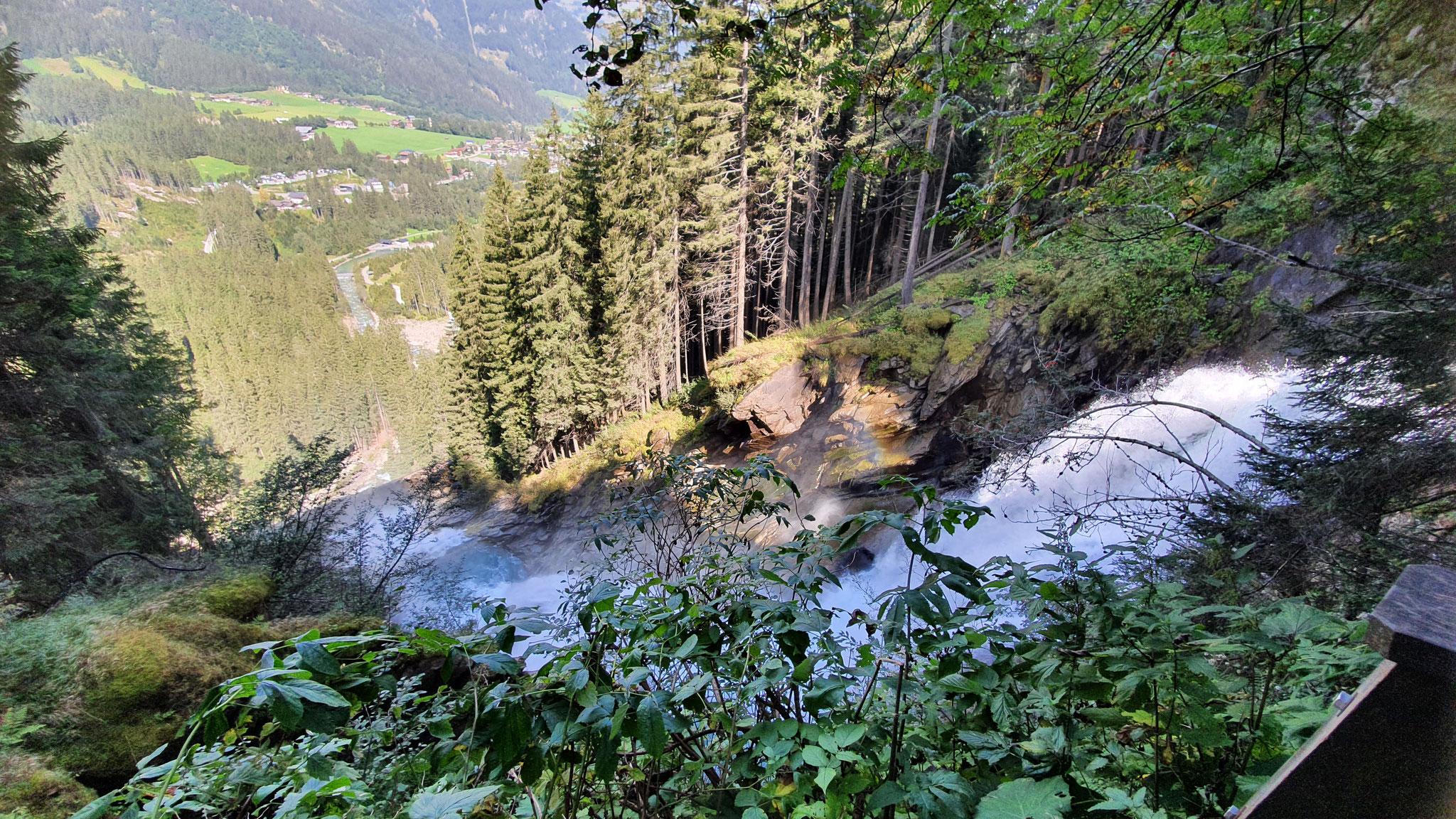 Wasserfälle von oben