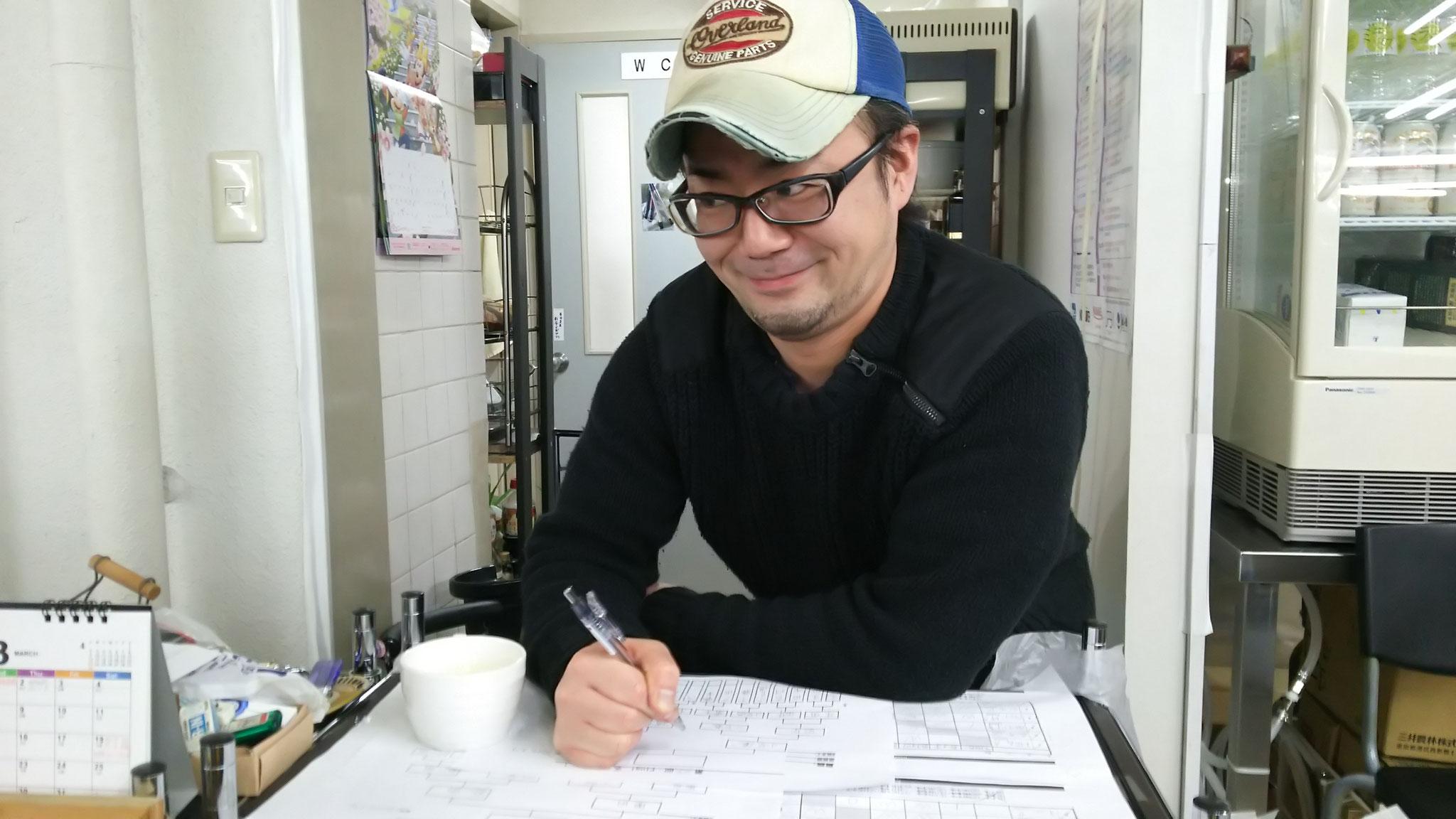 試合に運営に盛り上げ役に、頑張ってくれた永藤君でーす!