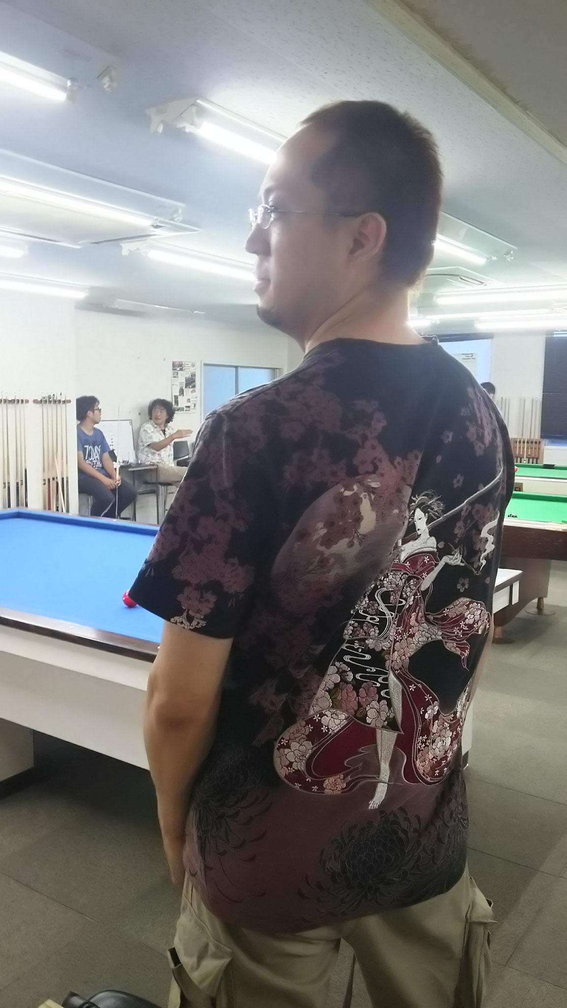 Tシャツクイズの答えは、神田さん!