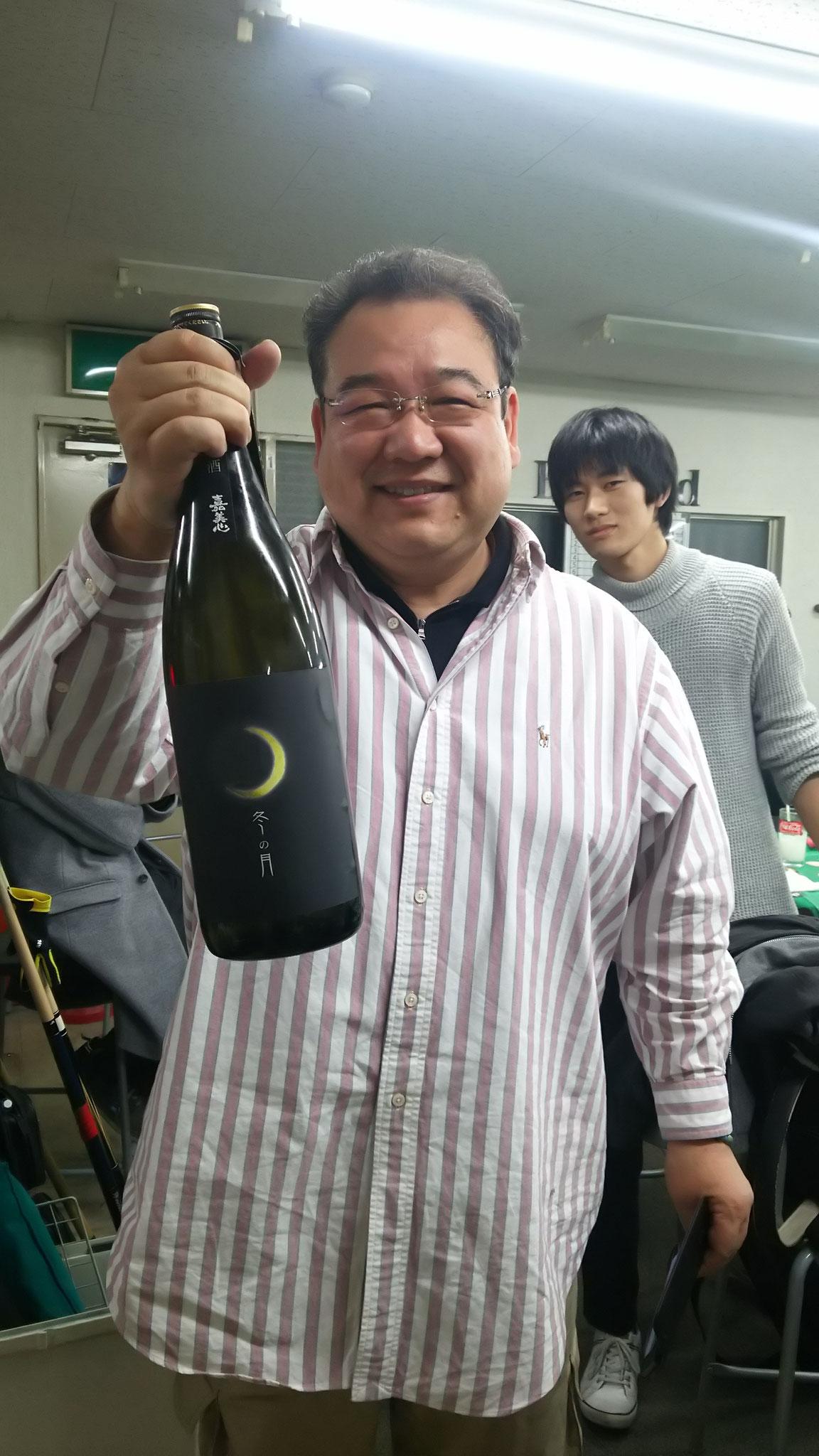 𠮷村さん、今回のは今までで一番美味しいお酒でしたね。