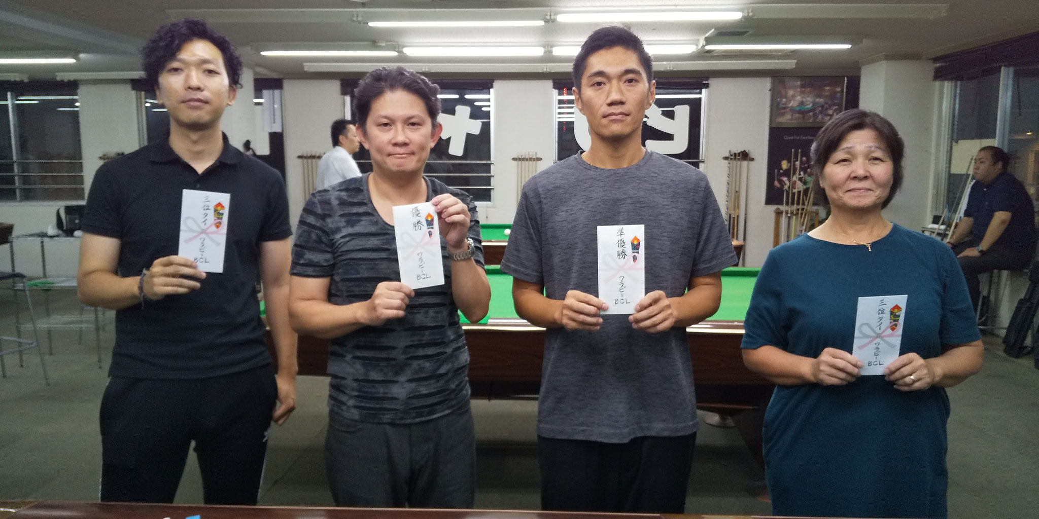 西村さん(3) 園田さん(1) 鶴野さん(2) リツコさん(3)