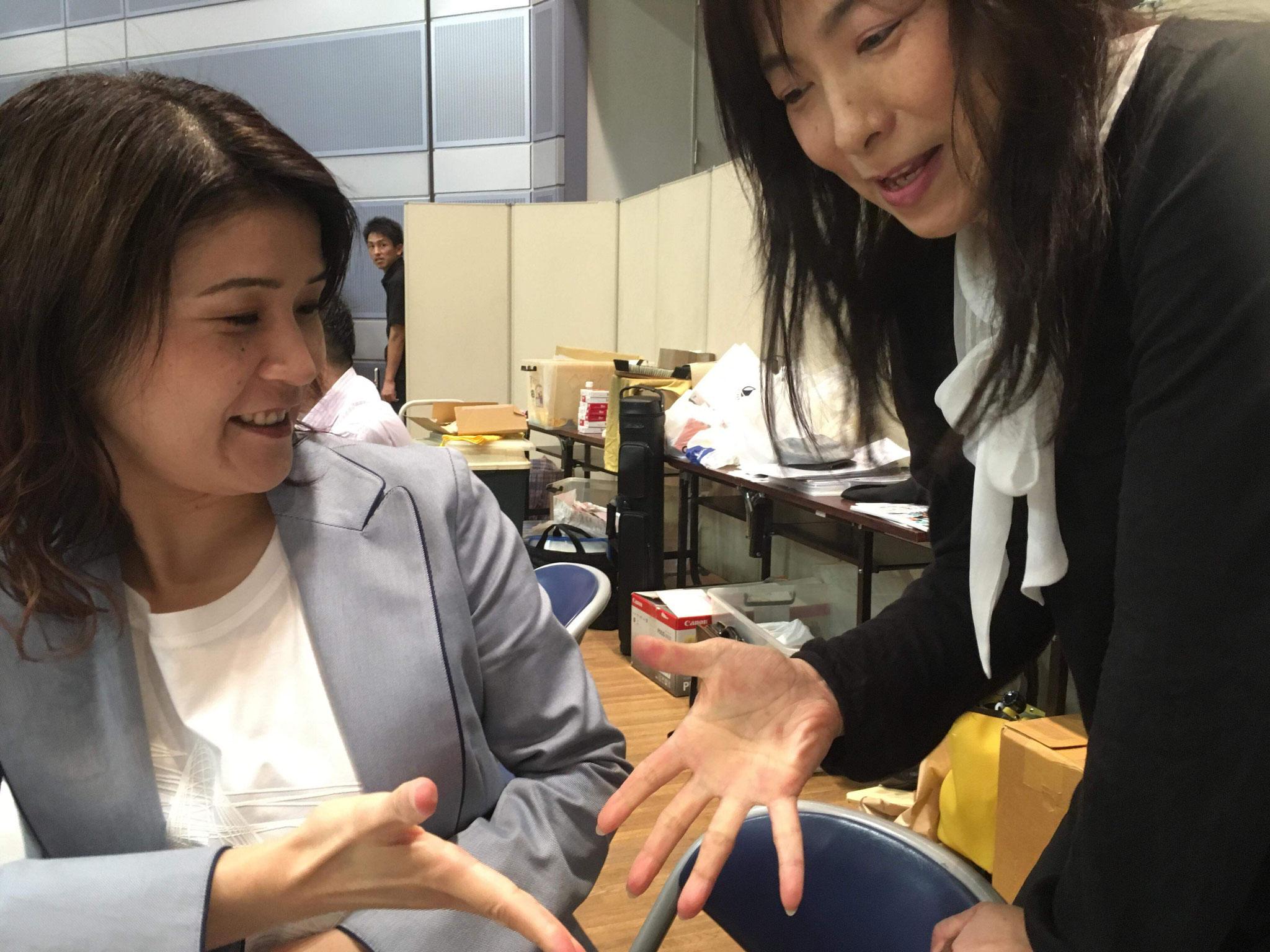 谷山プロと担当決め!