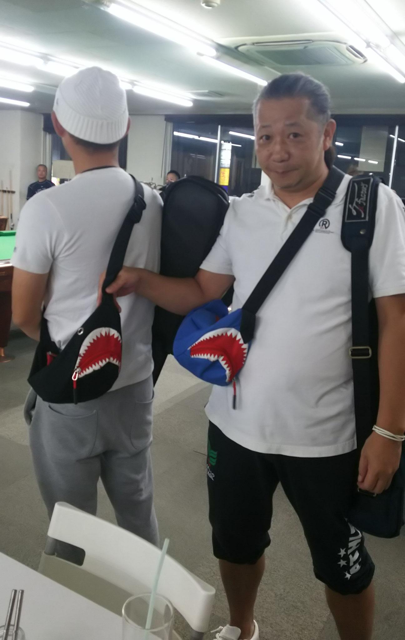 岸和田シャーク団のバッグ!