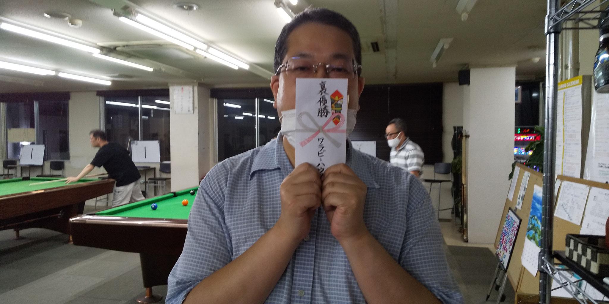 裏トーナメント優勝 森本さん