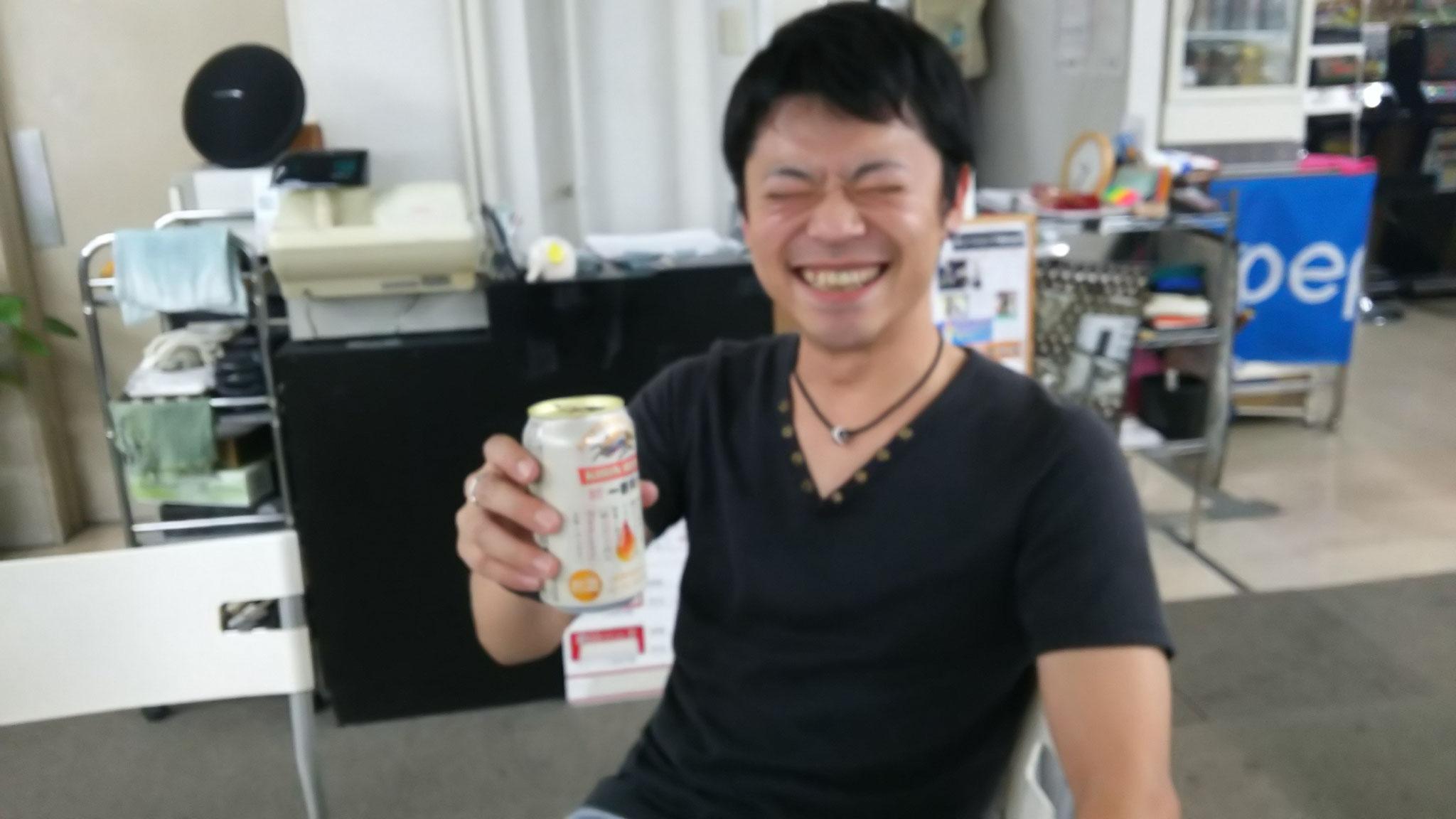 試合&運営おつかれさま!クゥ~ッ(酒)