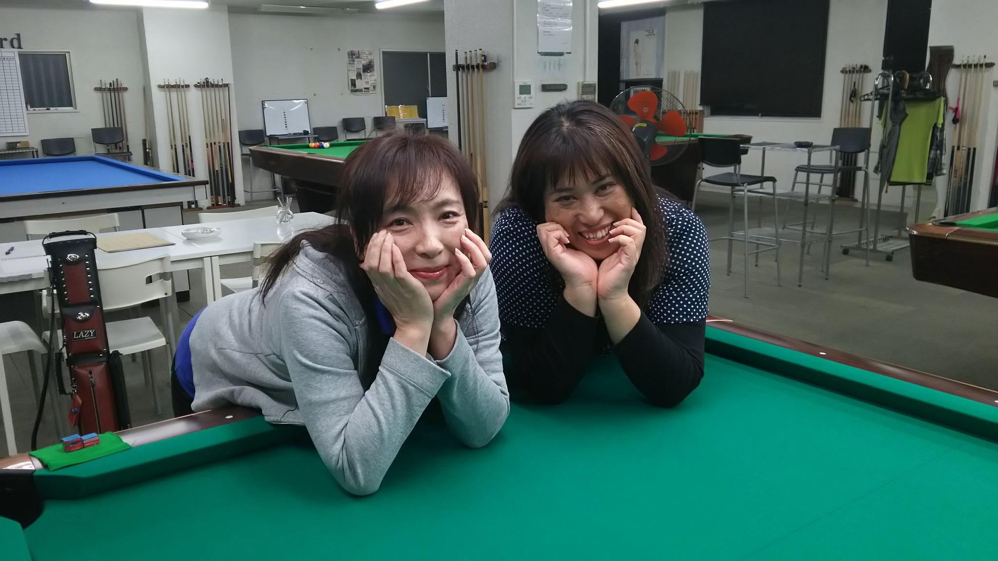 九州欠席を心配して来てくれた佳苗さんと新台で!