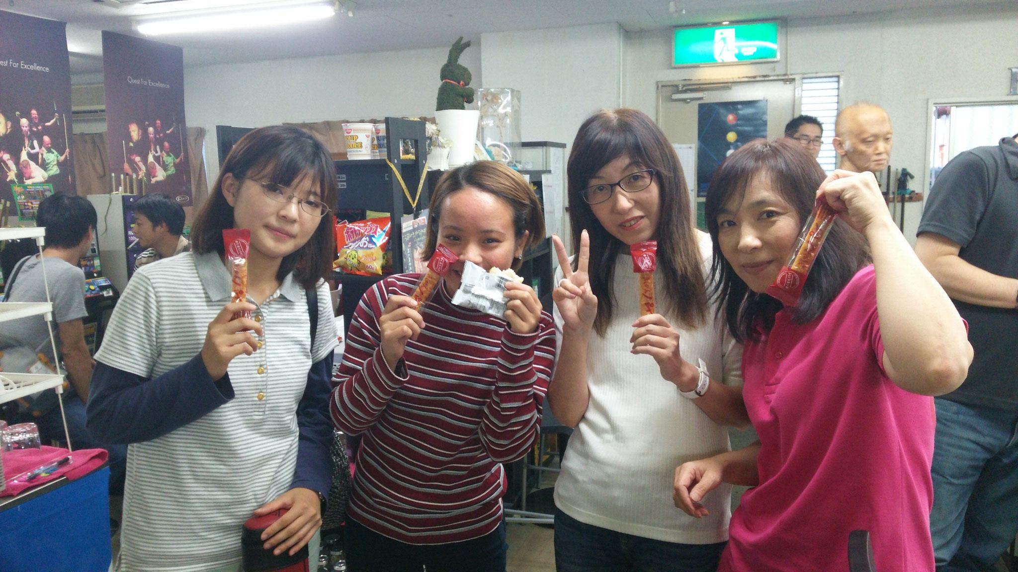 女子の参加者も増えてきました(^^)