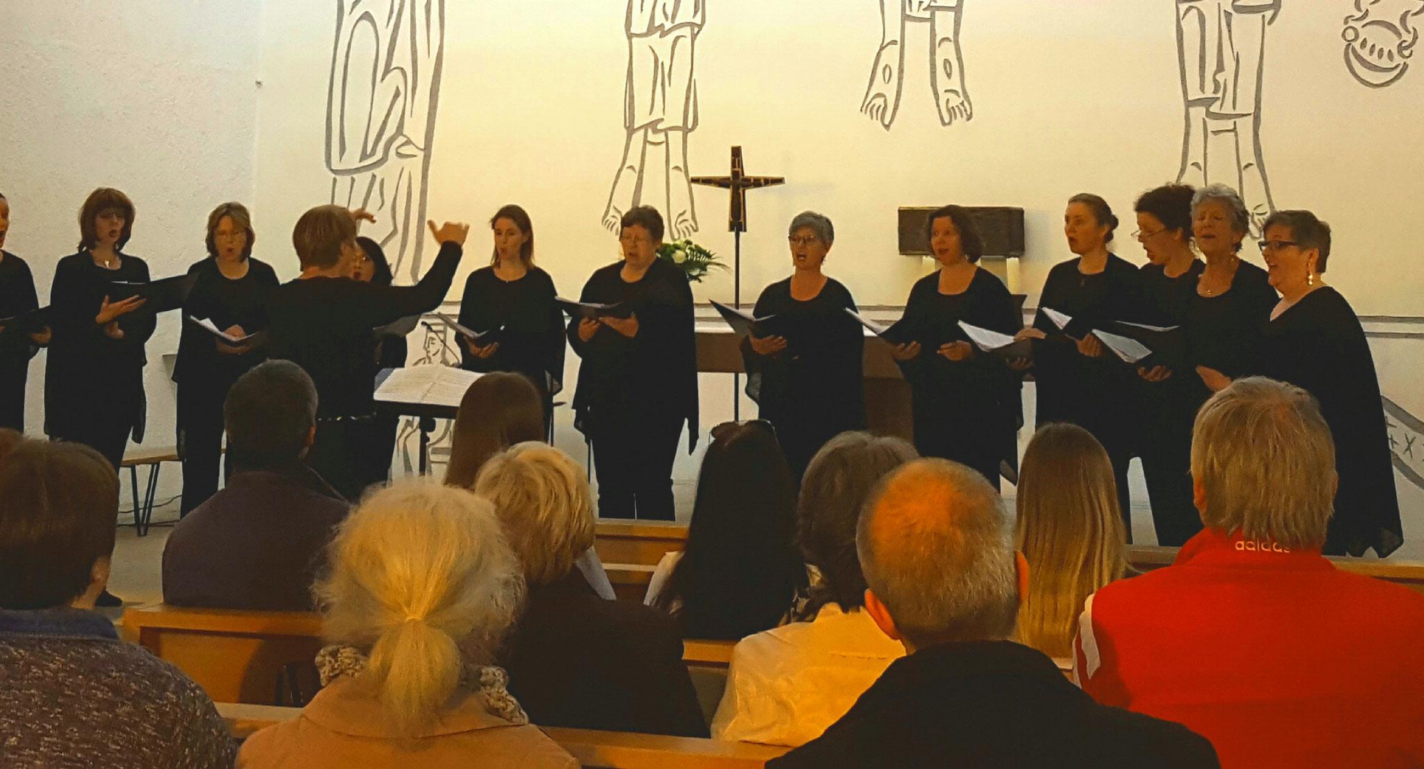 Geistliche Chormusik frz. Komponisten - Konzert 2019 - in Neckartailfingen
