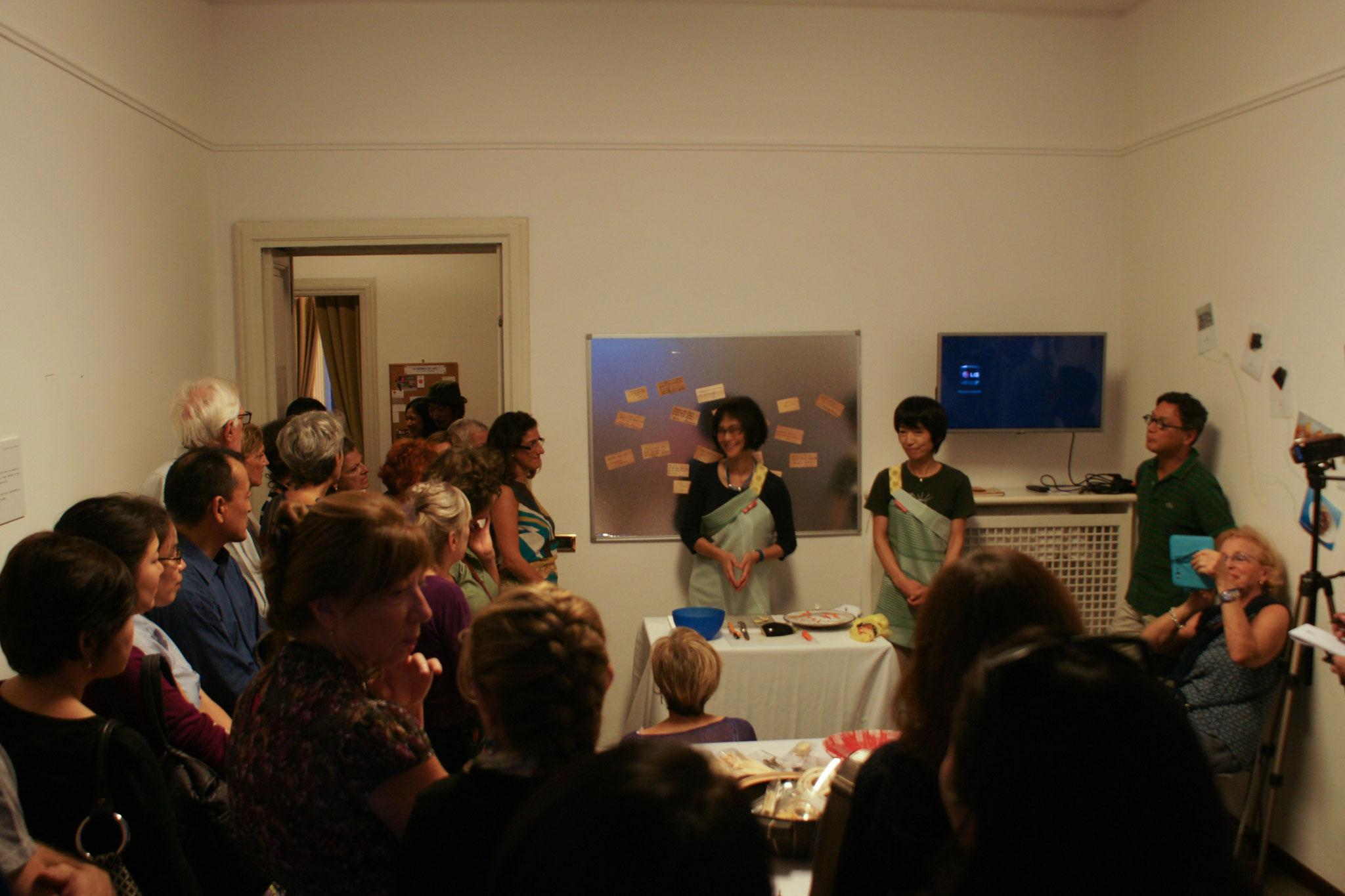 ミラノで乾物×アートイベント開催