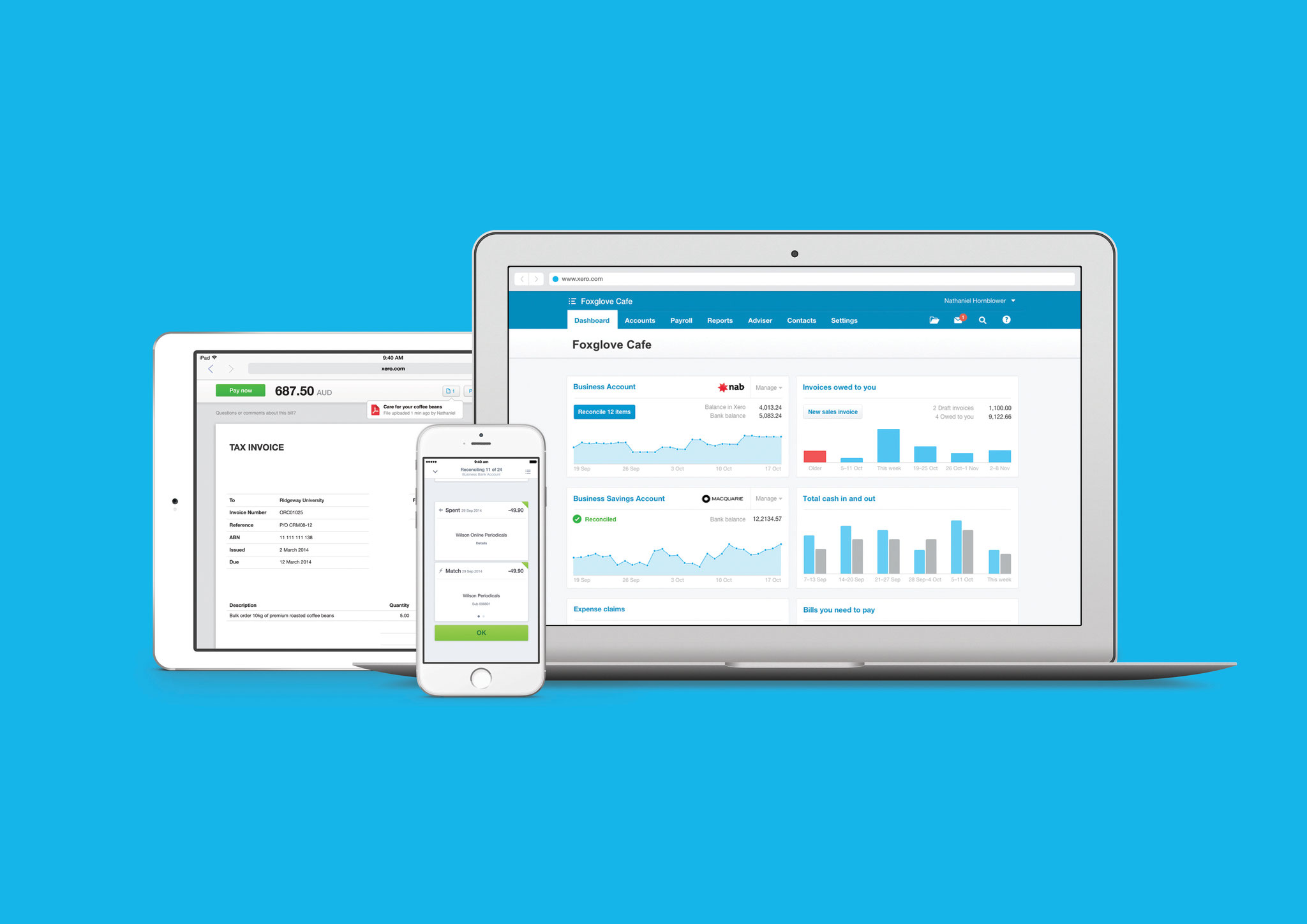 Kovski Accounting - Bookkeeping in the cloud