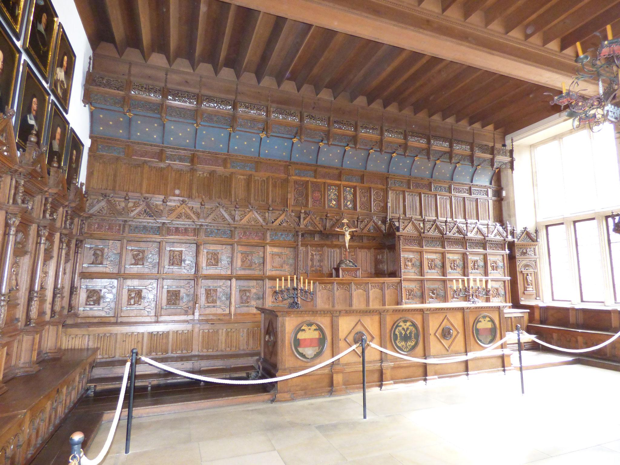Salle de la paix