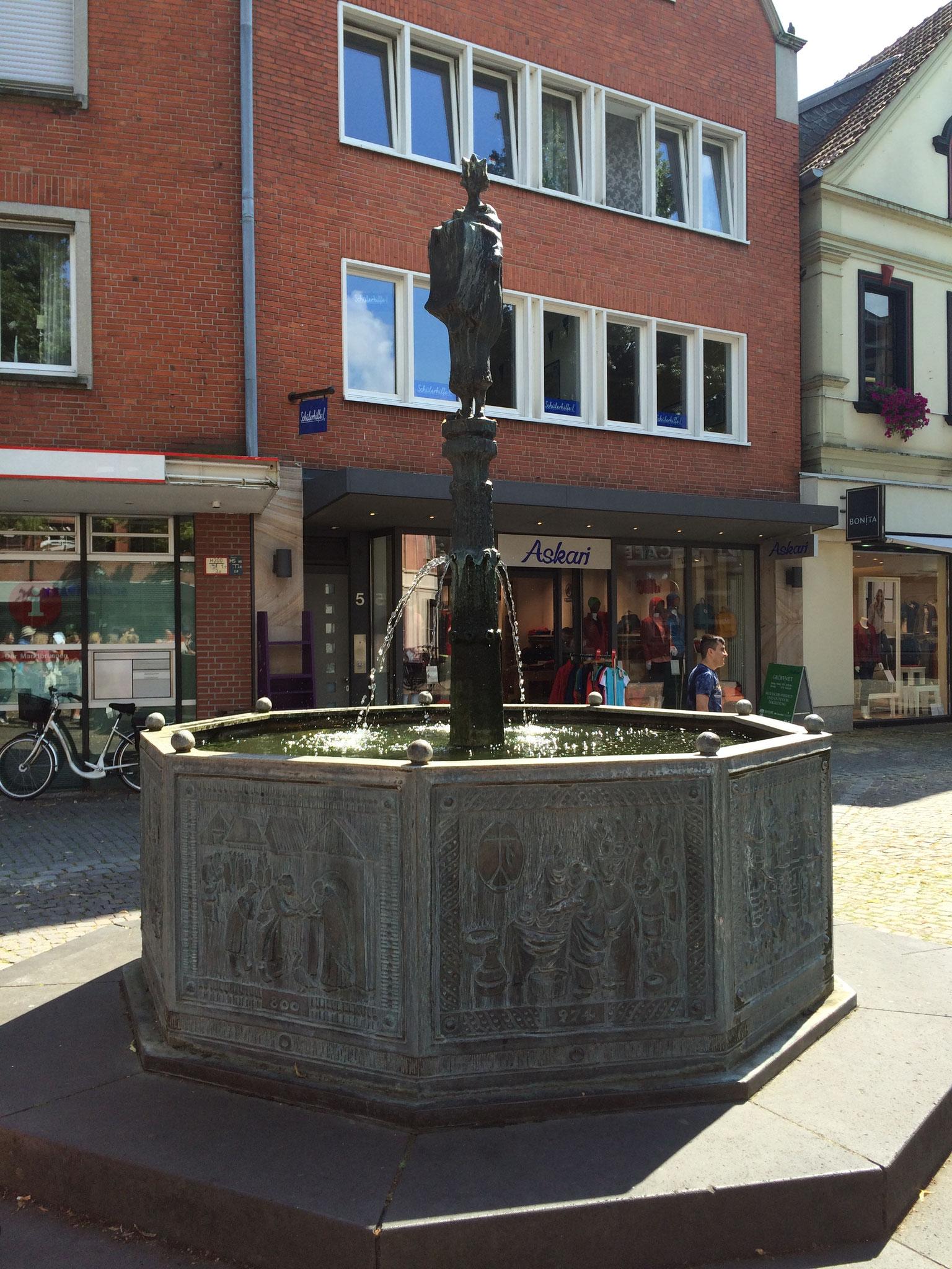 La fontaine de Lüdinghaussen