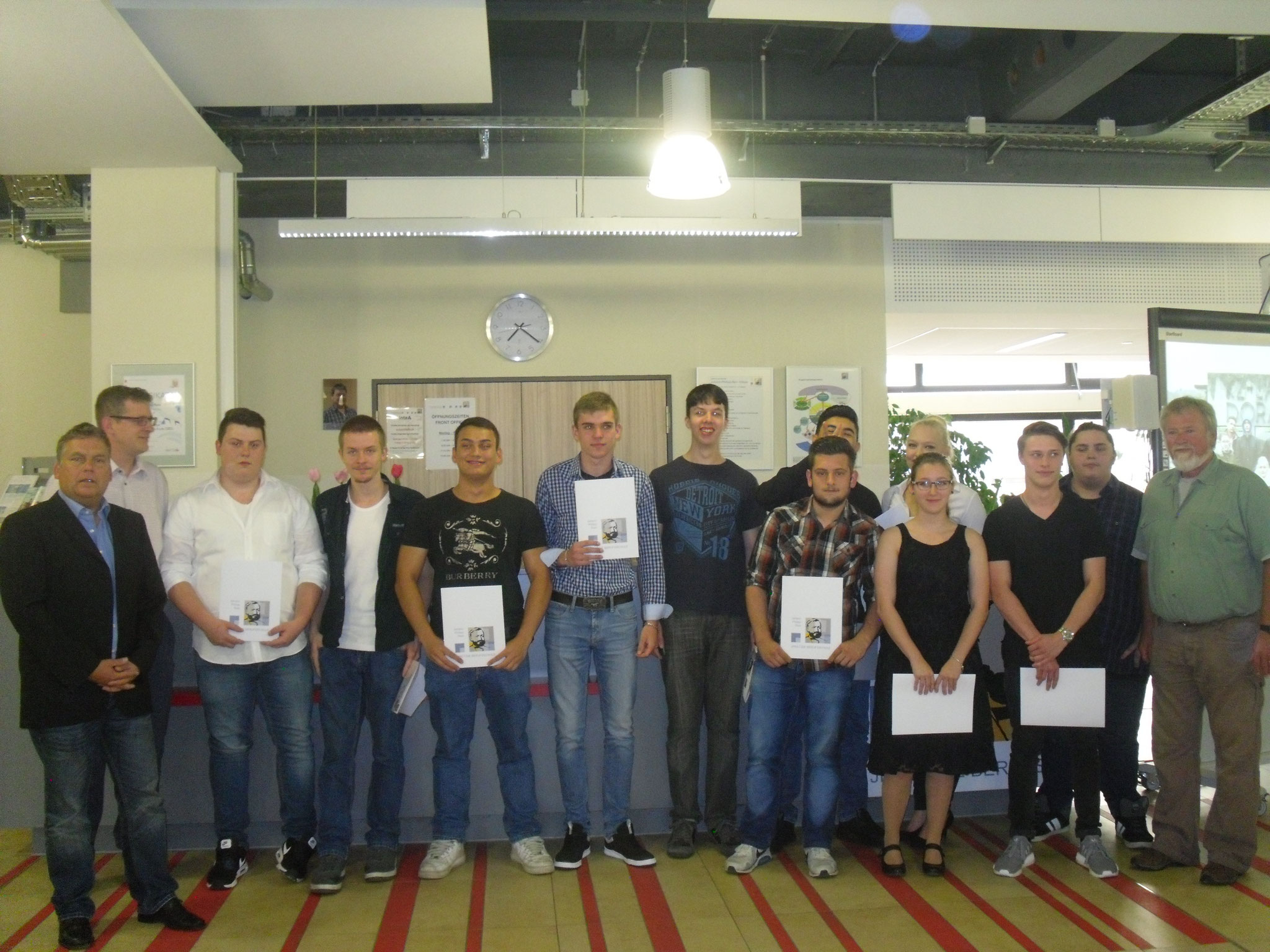 Klasse BF2A, Schwerpunkte Fahrzeugtechnik und Holztechnik