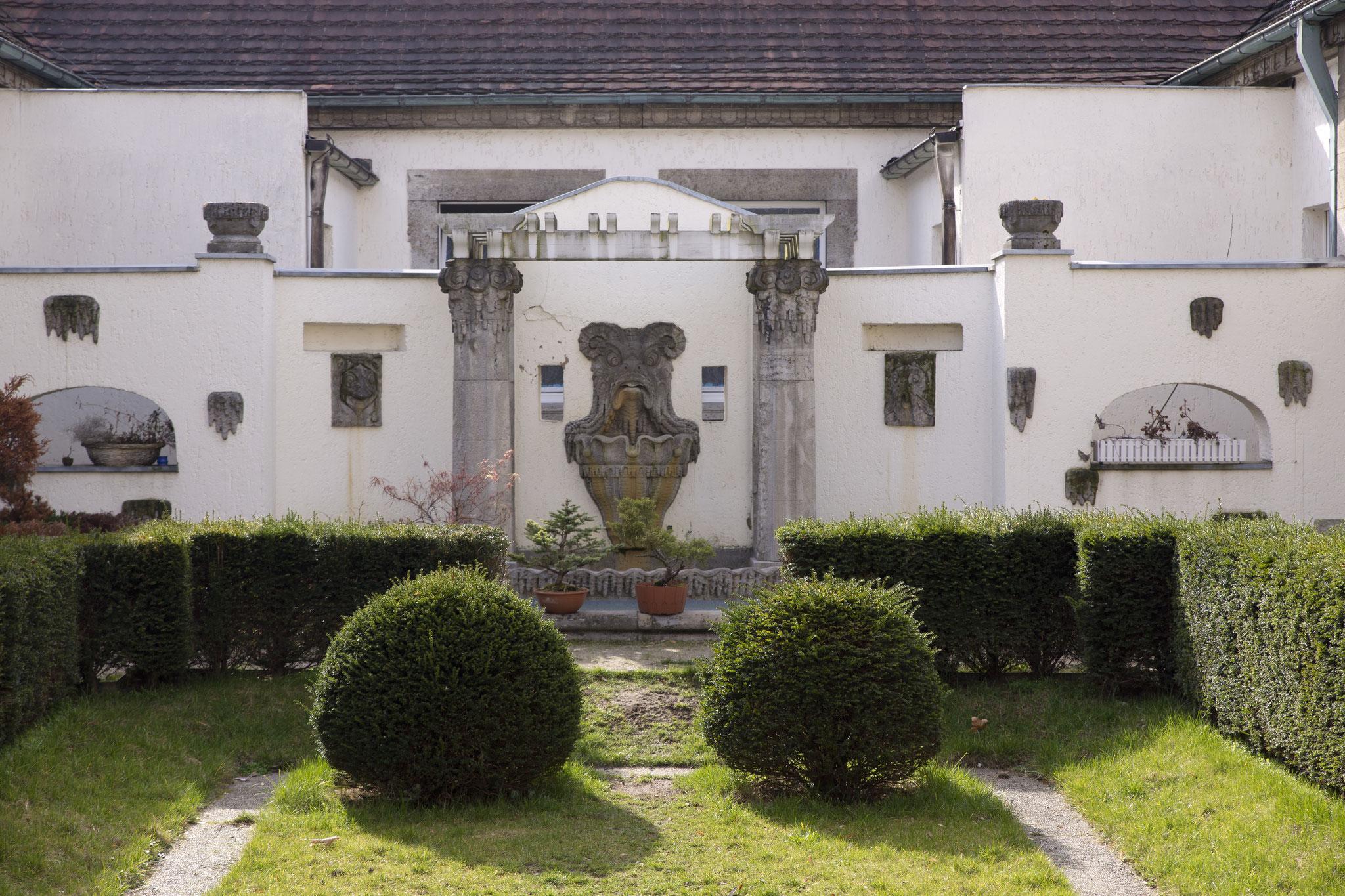 Sprudelhof, Brunnen