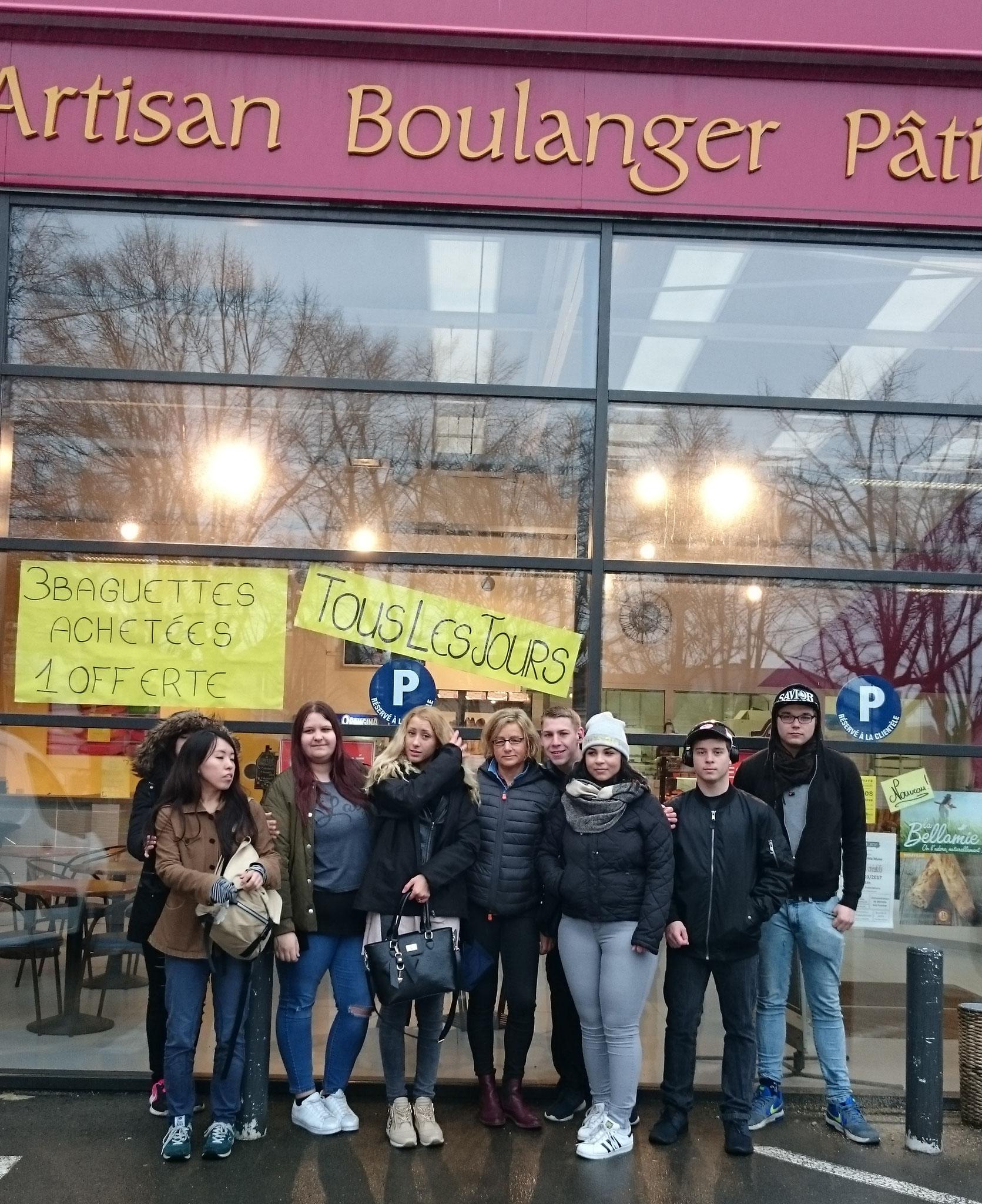 Gruppe der Lehrlinge in Chaumont