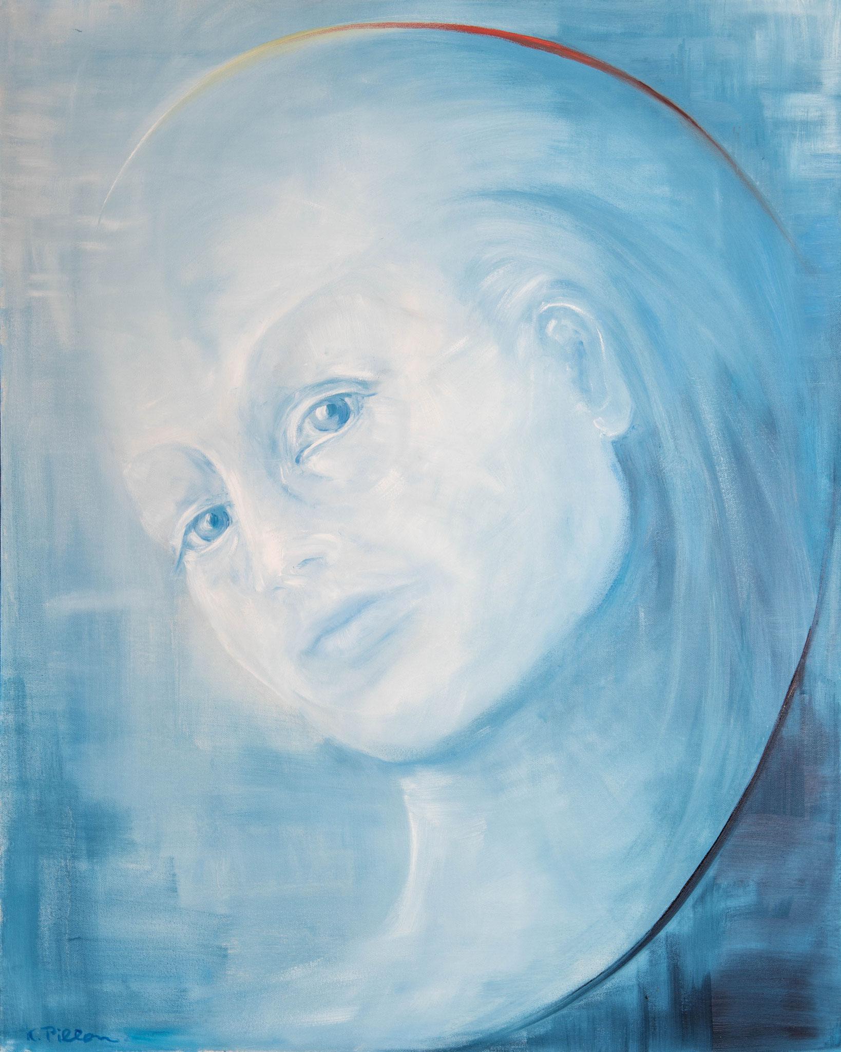 »Nymphe«  Öl/Leinwand  80 x 100 cm /  € 2900
