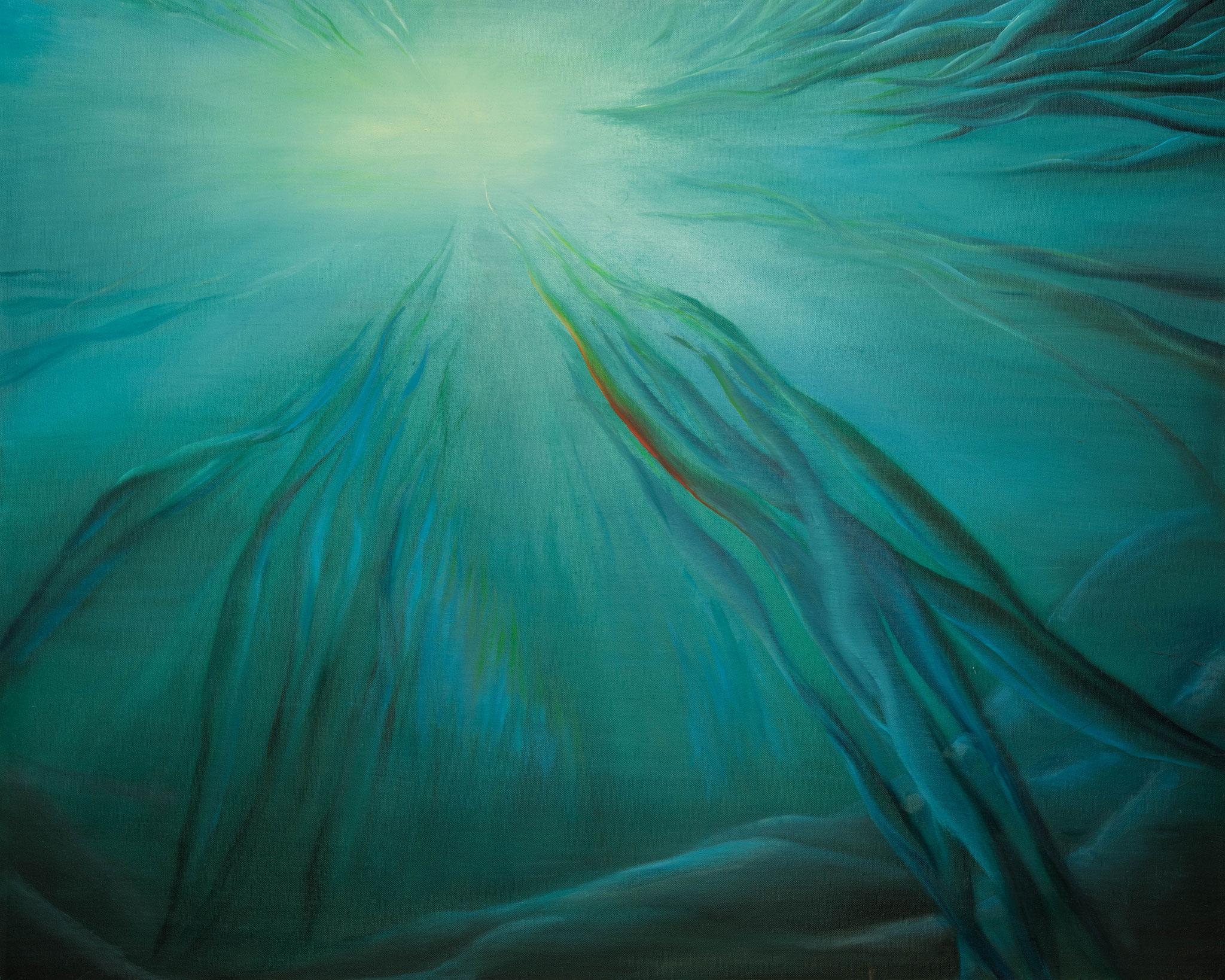 »Zum Licht«  Öl/Leinwand  100 x 80 cm / € 3400